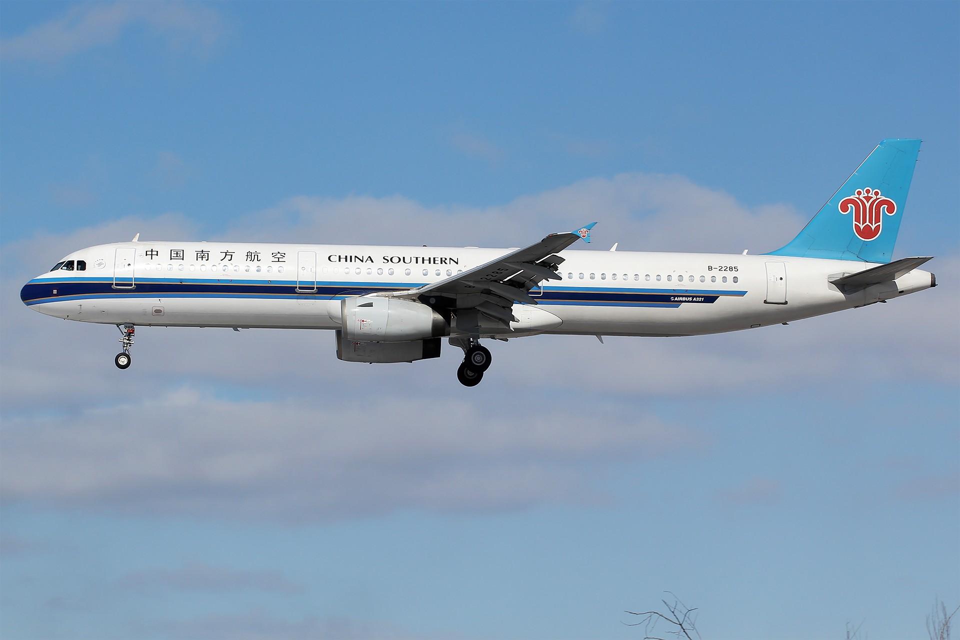 Re:[原创][DLC]。。。雪后天真就这么蓝。。。 AIRBUS A321-200 B-2285 中国大连国际机场