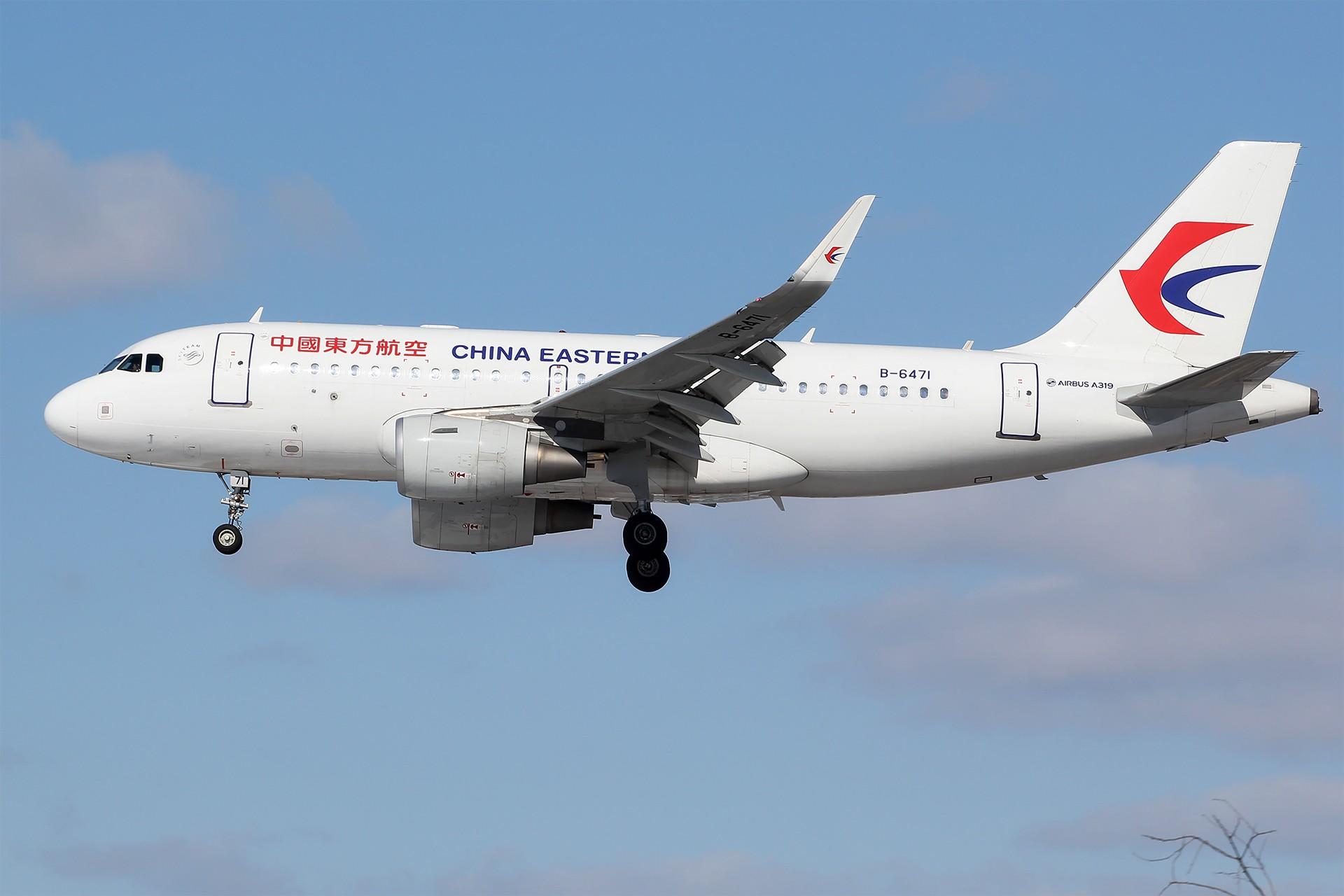 Re:[原创][DLC]。。。雪后天真就这么蓝。。。 AIRBUS A319-100 B-6471 中国大连国际机场