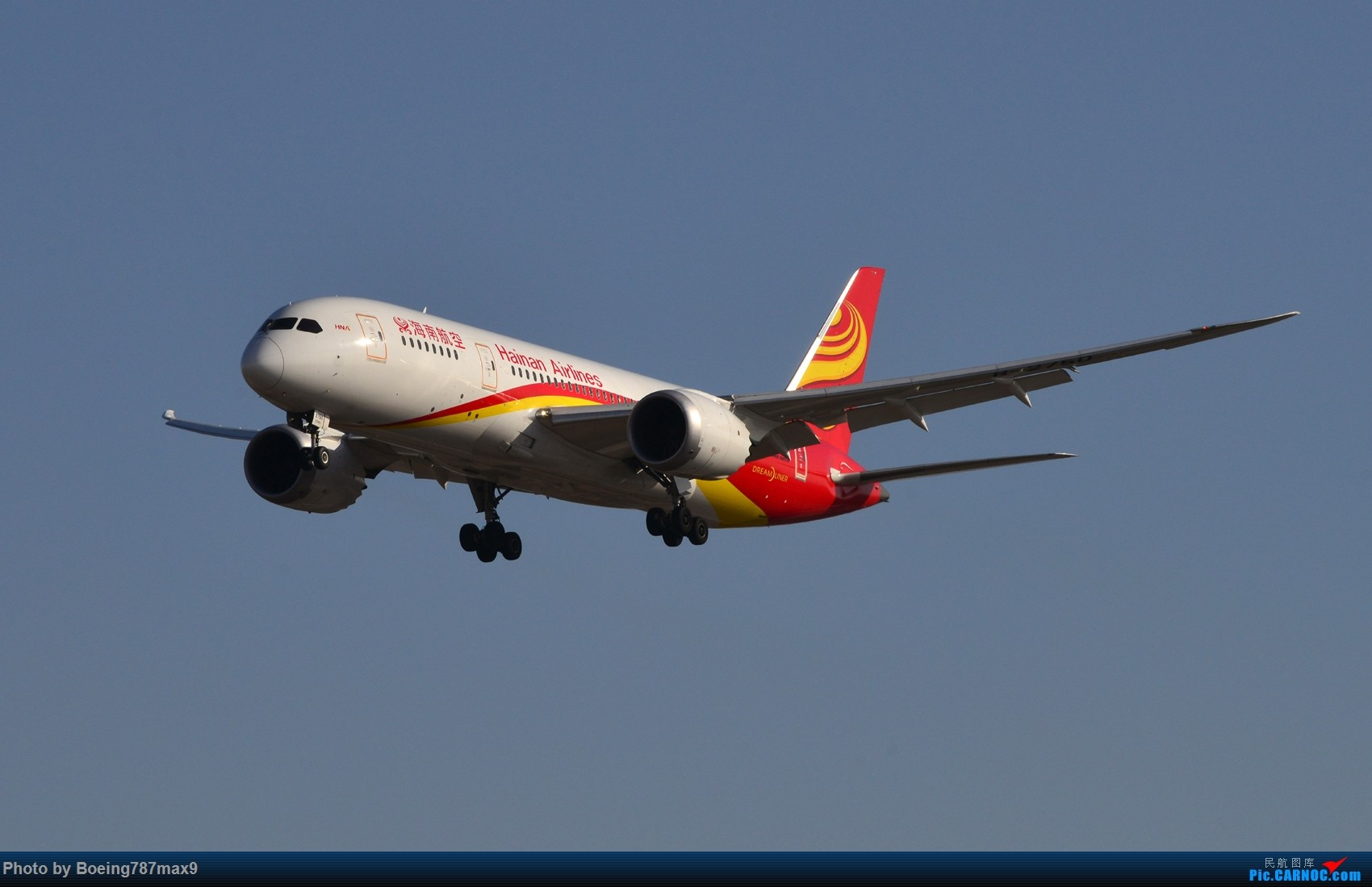 Re:[原创]【PEK】好天奔赴首都机场,好天好货!!!阿航388、海航788、联邦77F、国航744、UA744 BOEING 787-8 B-2750 中国北京首都国际机场