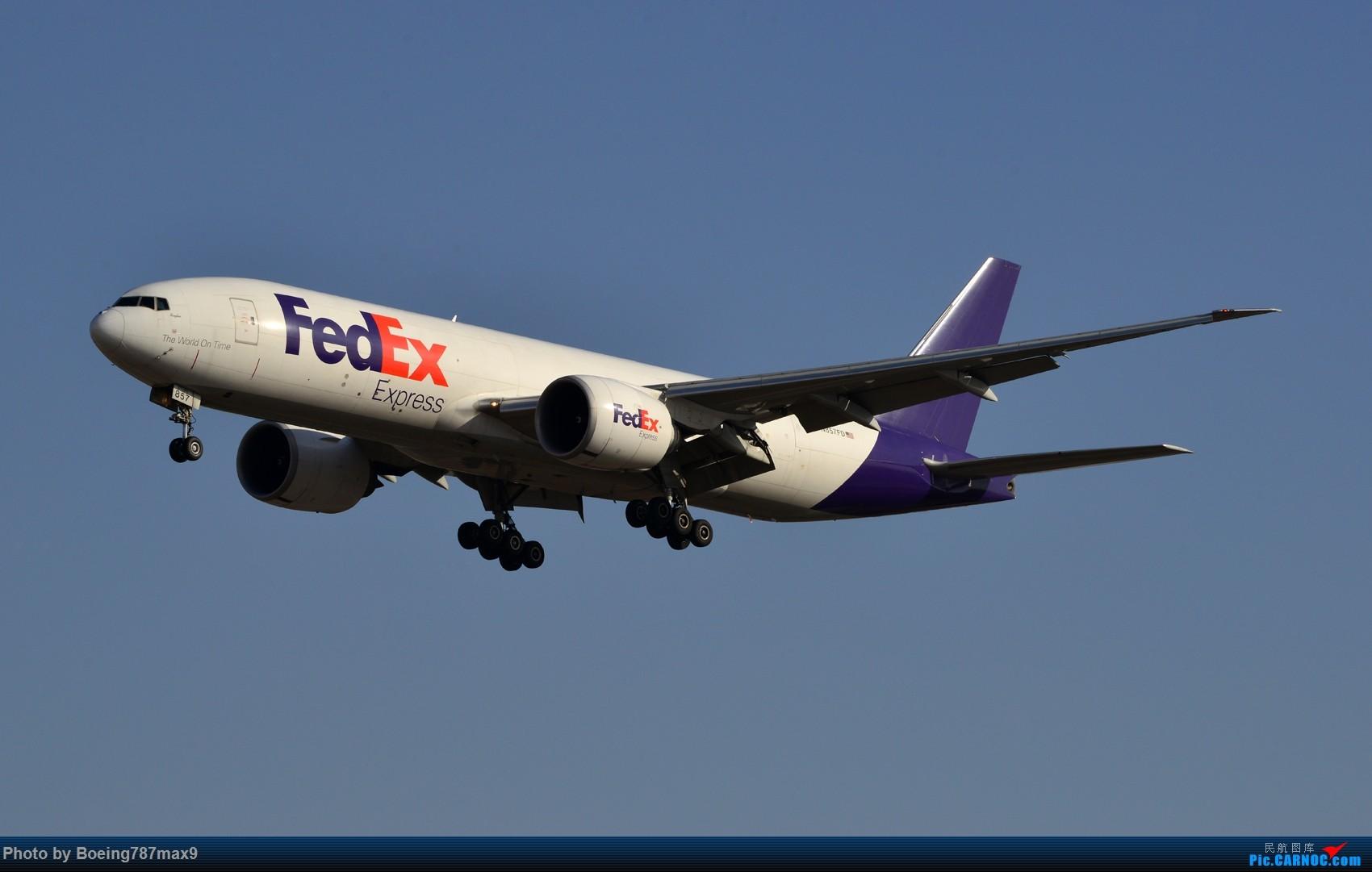 Re:[原创]【PEK】好天奔赴首都机场,好天好货!!!阿航388、海航788、联邦77F、国航744、UA744 BOEING 777-300ER N857FD 中国北京首都国际机场