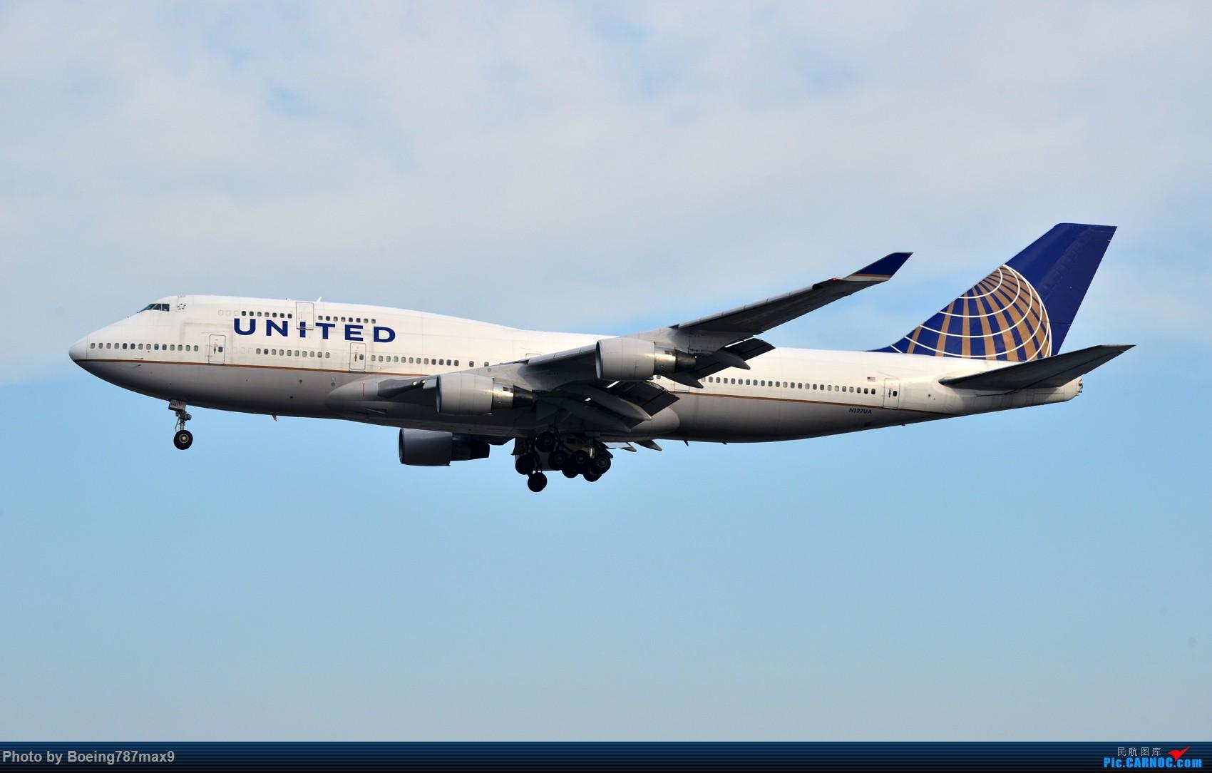 Re:[原创]【PEK】好天奔赴首都机场,好天好货!!!阿航388、海航788、联邦77F、国航744、UA744 BOEING 747-400 N127UA 中国北京首都国际机场