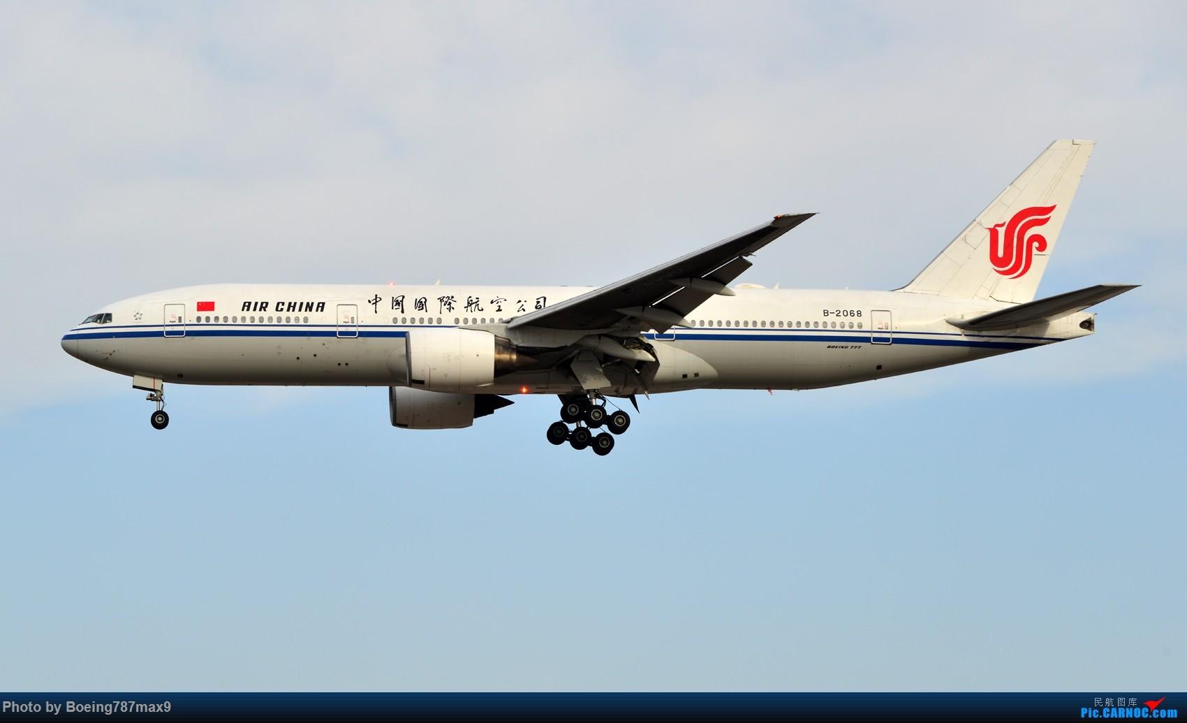 Re:[原创]【PEK】好天奔赴首都机场,好天好货!!!阿航388、海航788、联邦77F、国航744、UA744 BOEING 777-200 B-2068 中国北京首都国际机场