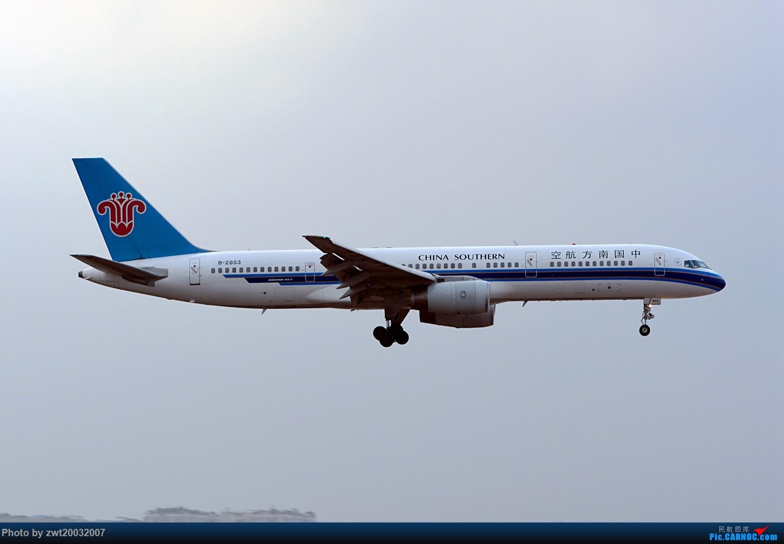 Re:【CARNOC重庆飞友会】门神 赤火 微笑 新华 BOEING 757-200 B-2853 中国重庆江北国际机场