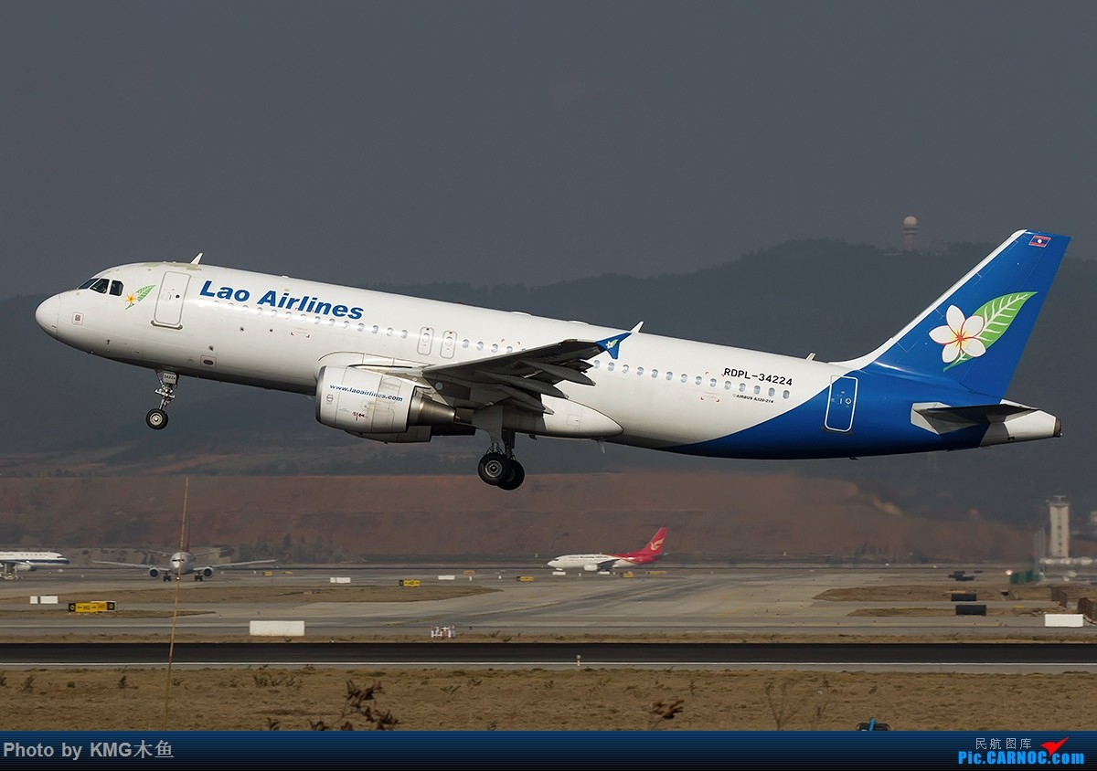 Re:【昆明飞友会-KMG木鱼】酝酿已久的新装备,长水国际机场东跑来一次磨合 AIRBUS A320 RDPL-34224 中国昆明长水国际机场