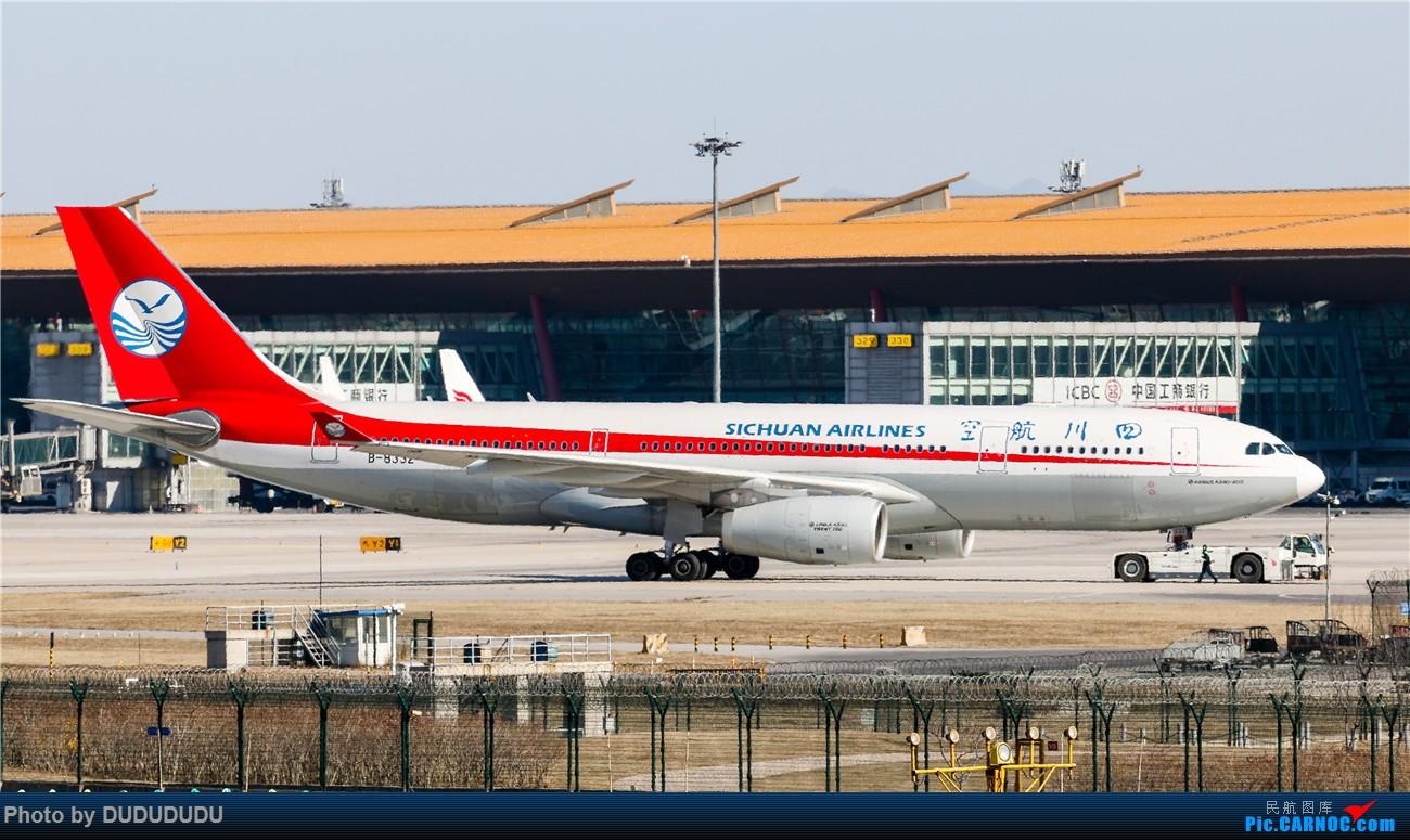 Re:[原创]【DUDUDUDU】年前年后,蓝天下的PEK AIRBUS A330-200 B-8332 中国北京首都国际机场