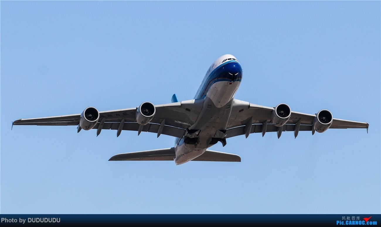 Re:[原创]【DUDUDUDU】年前年后,蓝天下的PEK AIRBUS A380 B-6139 中国北京首都国际机场
