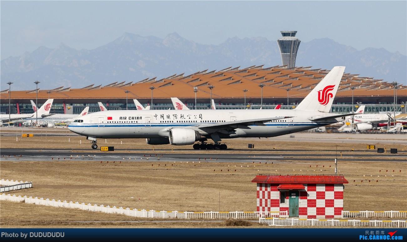 Re:[原创]【DUDUDUDU】年前年后,蓝天下的PEK BOEING 777-200 B-2063 中国北京首都国际机场
