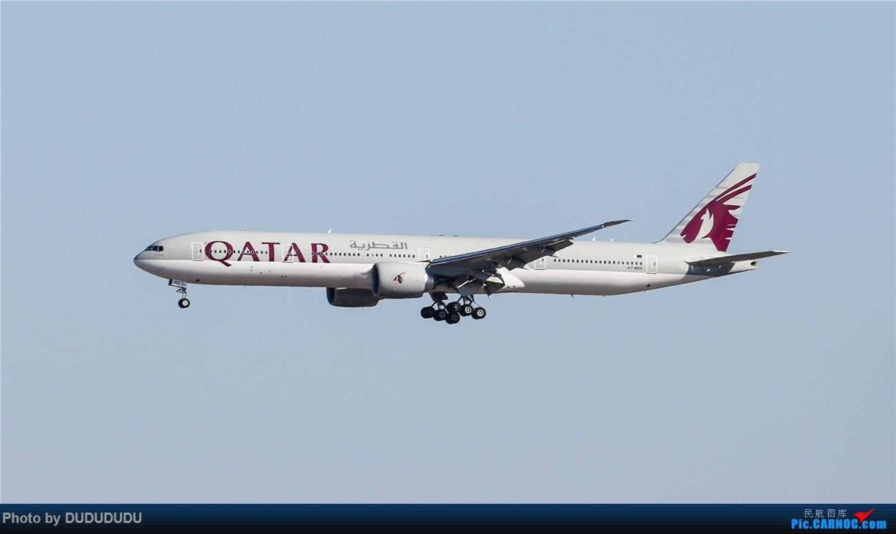 Re:[原创]【DUDUDUDU】年前年后,蓝天下的PEK BOEING 777-300ER A7-BED 中国北京首都国际机场