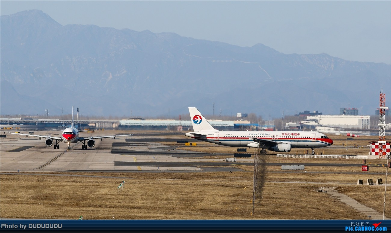 Re:[原创]【DUDUDUDU】年前年后,蓝天下的PEK AIRBUS A320-200 B-6671 中国北京首都国际机场