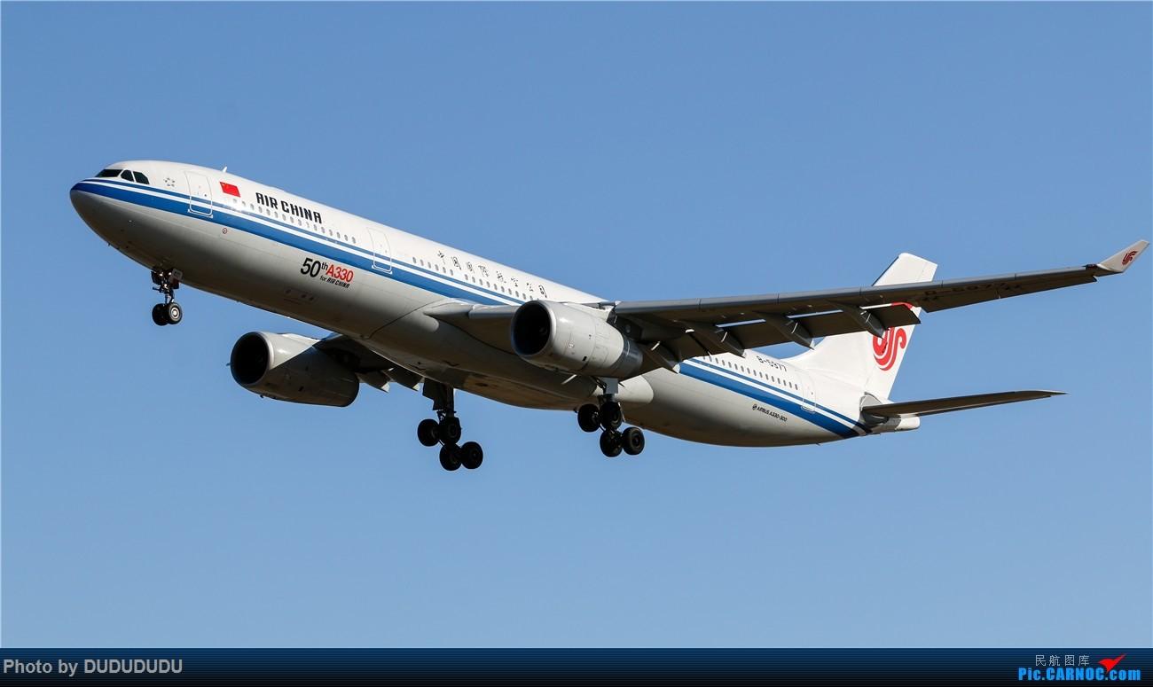 Re:[原创]【DUDUDUDU】年前年后,蓝天下的PEK AIRBUS A330-300 B-5977 中国北京首都国际机场