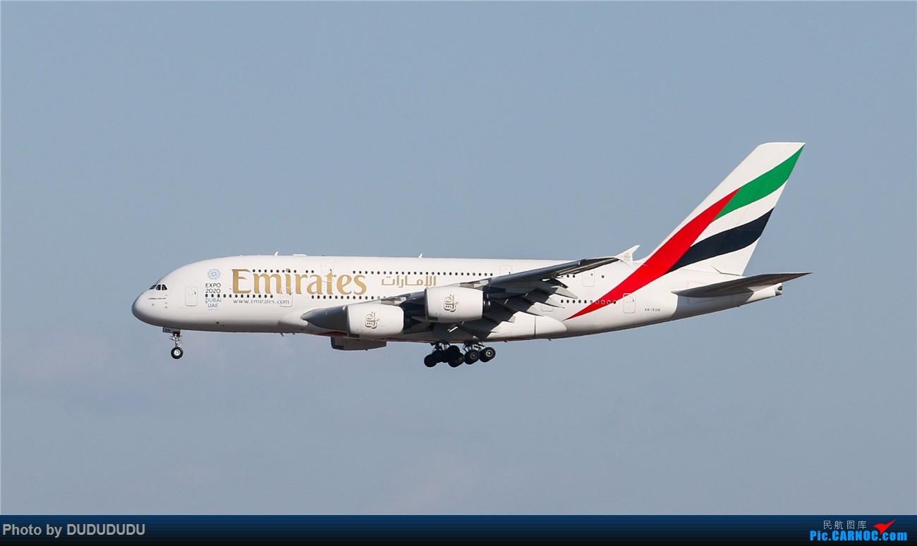 Re:[原创]【DUDUDUDU】年前年后,蓝天下的PEK AIRBUS A380-800 A6-EDR 中国北京首都国际机场