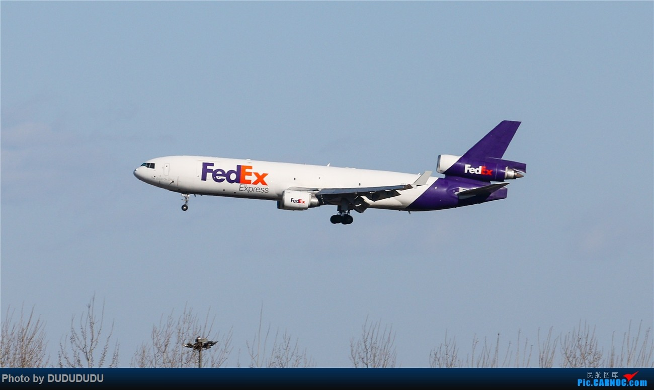 Re:[原创]【DUDUDUDU】年前年后,蓝天下的PEK MD MD-11 N573FE 中国北京首都国际机场