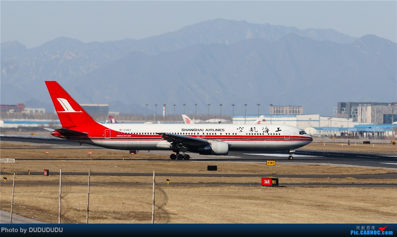 Re:[原创]【DUDUDUDU】年前年后,蓝天下的PEK BOEING 767-300 B-2567 中国北京首都国际机场