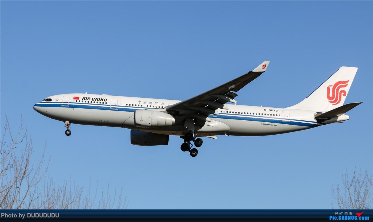 Re:[原创]【DUDUDUDU】年前年后,蓝天下的PEK AIRBUS A330-200 B-6079 中国北京首都国际机场
