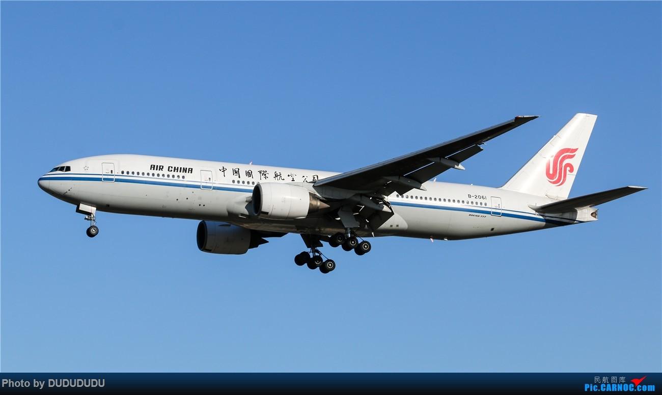 Re:[原创]【DUDUDUDU】年前年后,蓝天下的PEK BOEING 777-200 B-2061 中国北京首都国际机场