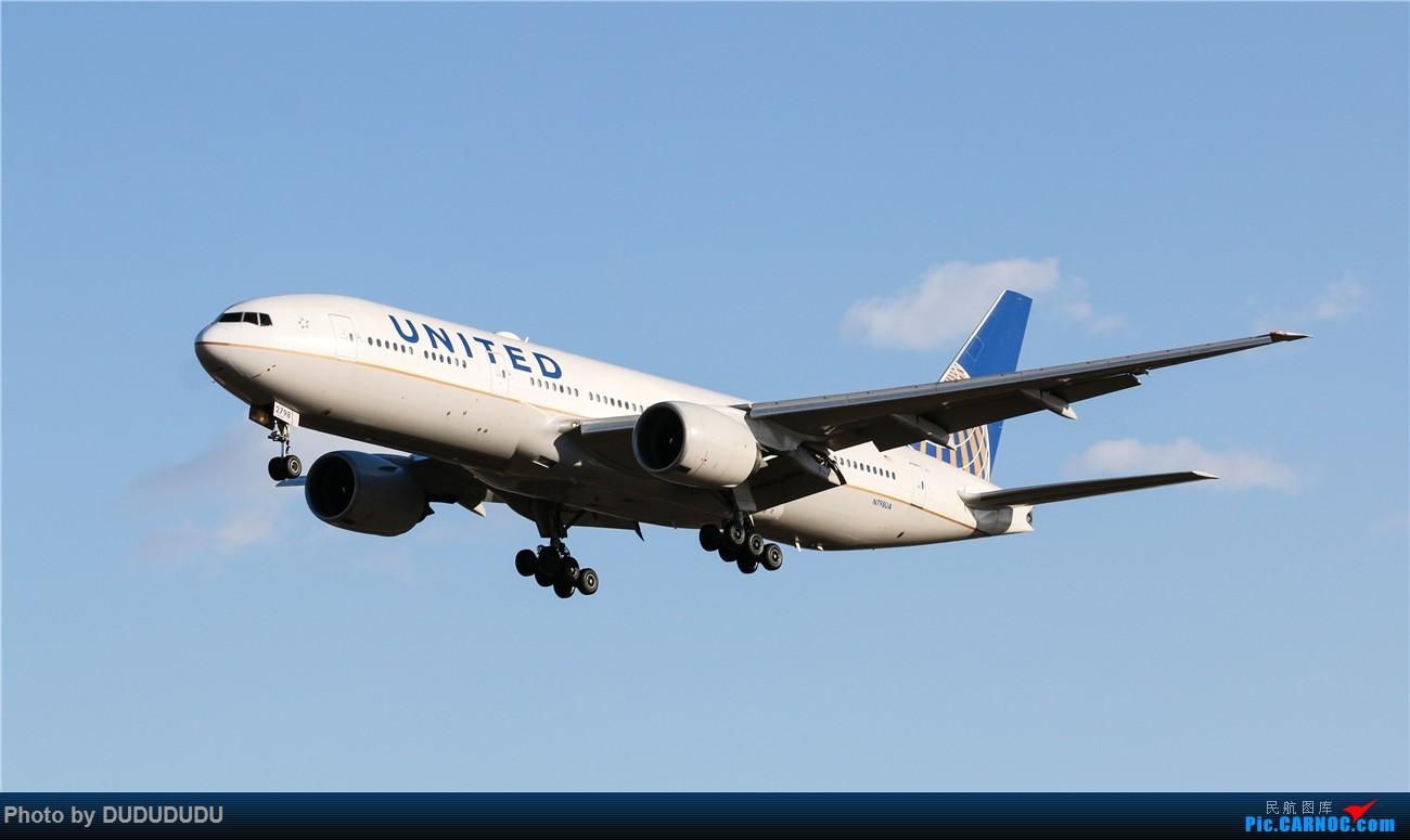 Re:[原创]【DUDUDUDU】年前年后,蓝天下的PEK BOEING 777-200ER N798UA 中国北京首都国际机场