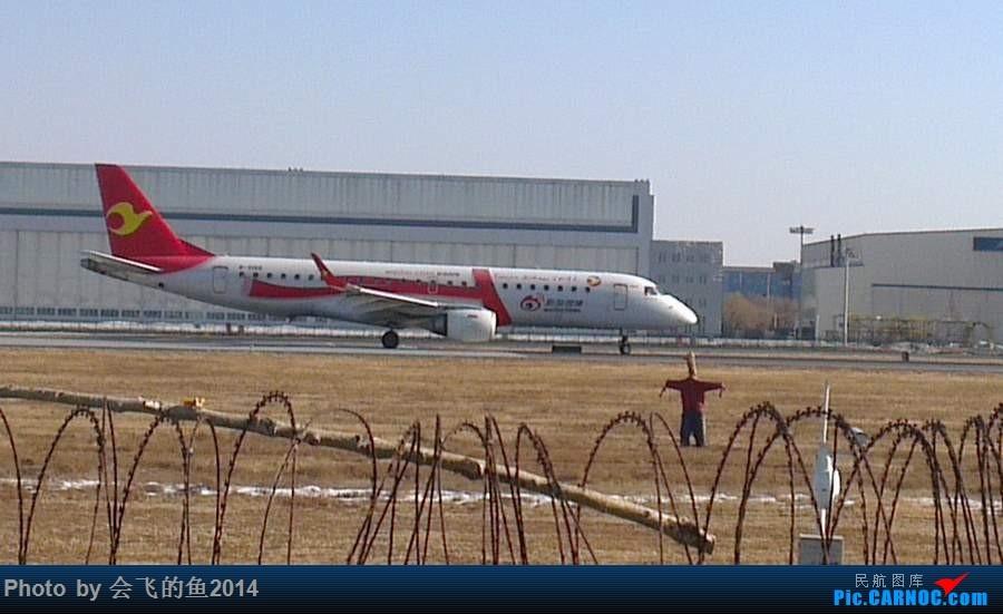 Re:2月18日桃仙机场拍机,有谁知道半夜三点到沈阳的an124明天什么时候起飞啊,谢谢了 E190