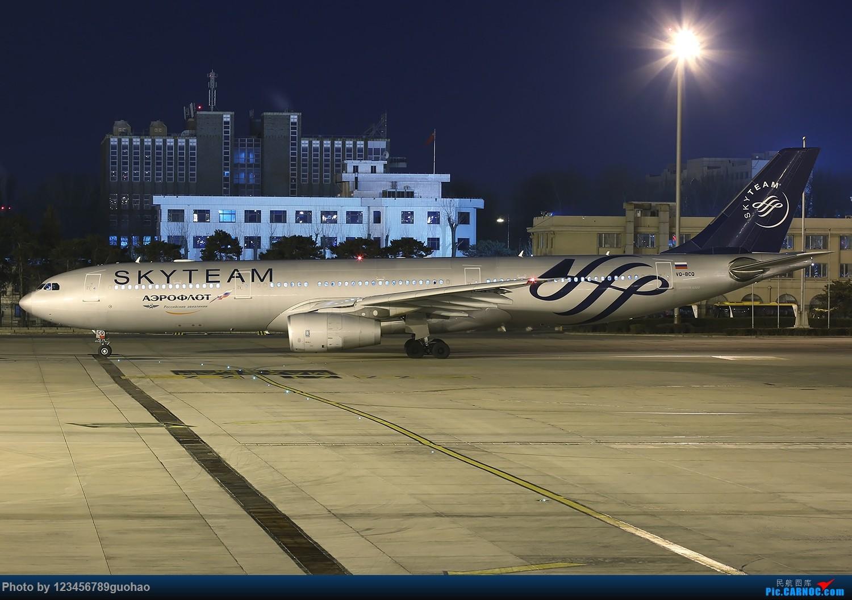 俄罗斯VQ-BCQ*阿斯塔纳世博会*夜景 AIRBUS A330-300 VQ-BCQ 北京首都机场