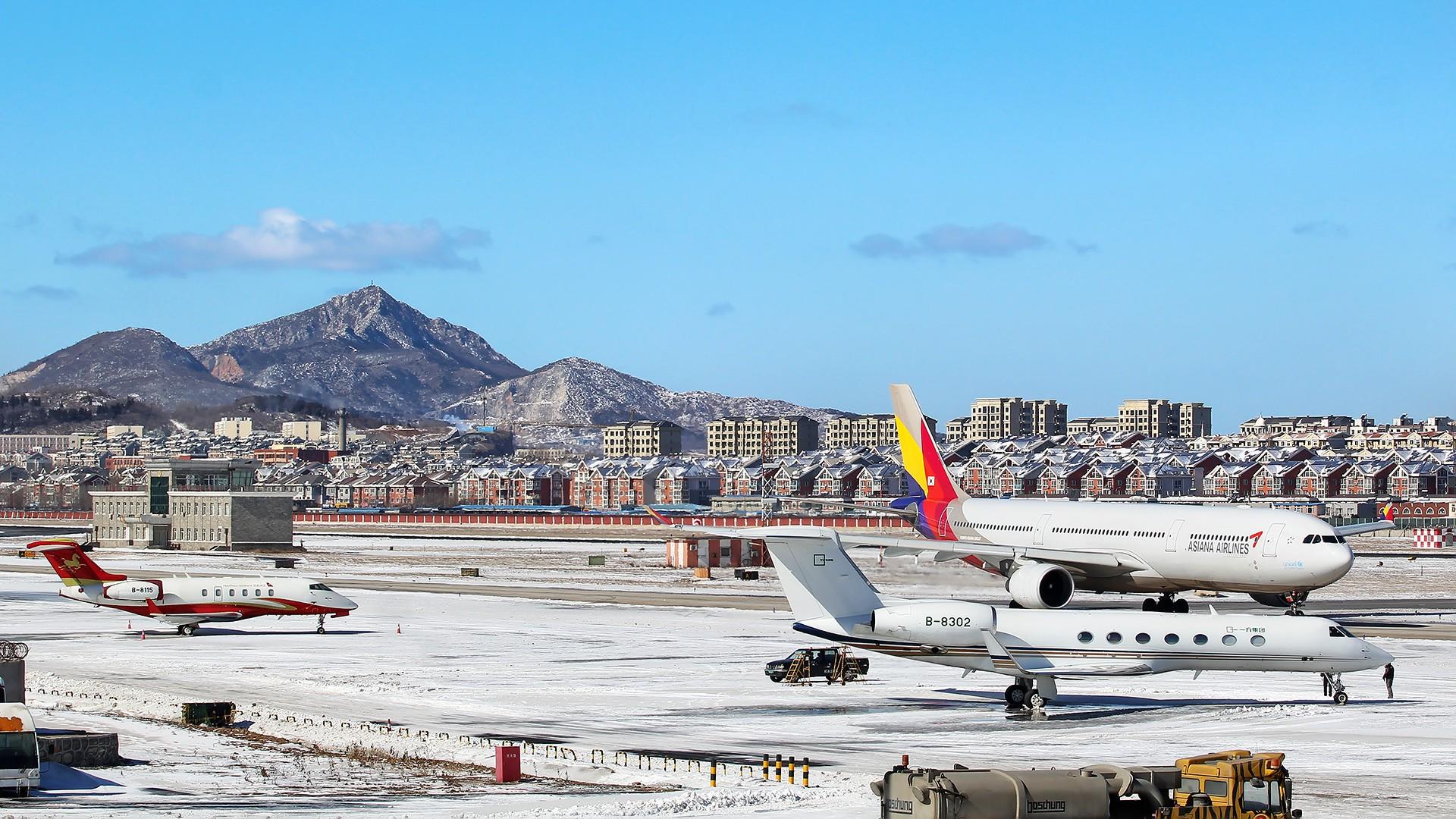 [原创][原创][DLC]。。。DLC雪。。。    中国大连国际机场