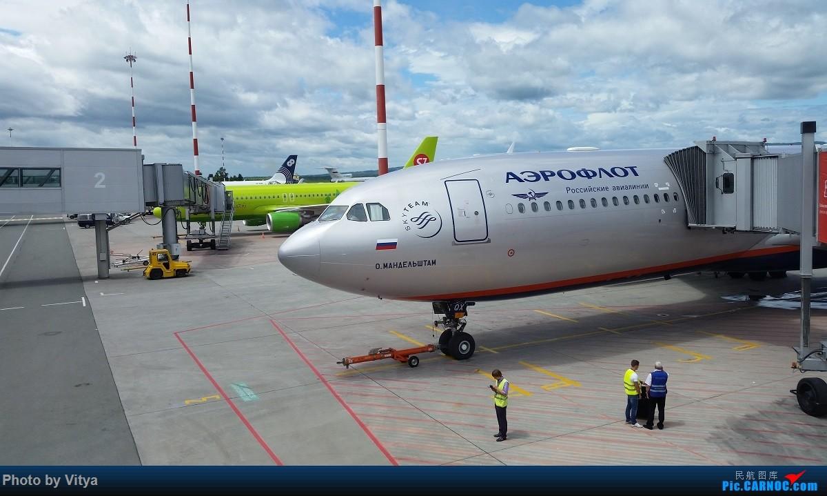 Re:[原创]走遍РОССИЯ(一)之海参崴 AIRBUS A330-300  俄罗斯符拉迪沃斯托克机场
