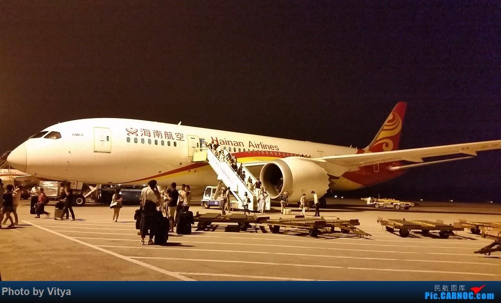 Re:[原创]走遍РОССИЯ(一)之海参崴 BOEING 787-8  中国北京首都国际机场