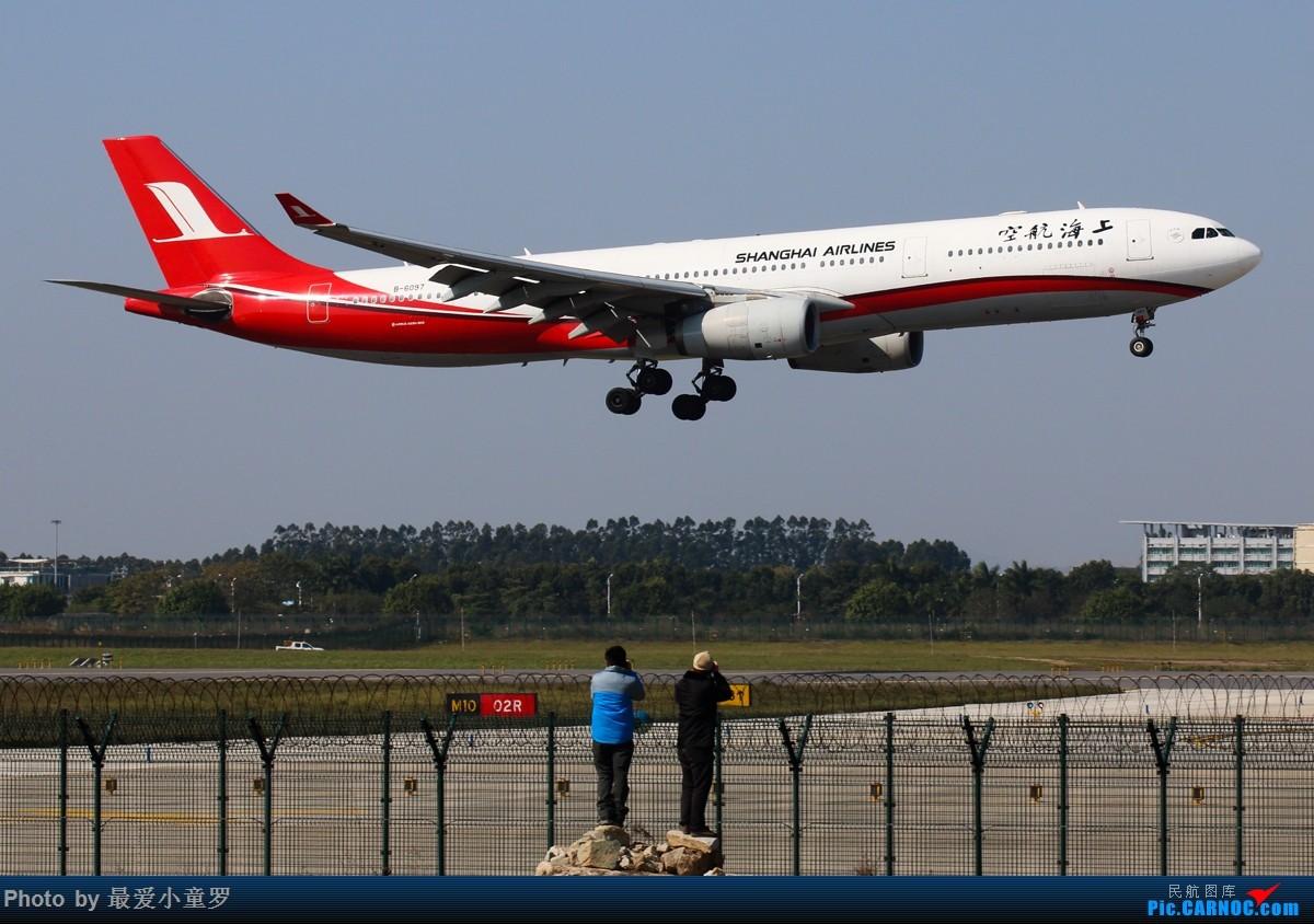 Re:[原创]四年一次的2月29日——一组空客A330在广州 AIRBUS A330-300 B-6097 中国广州白云国际机场