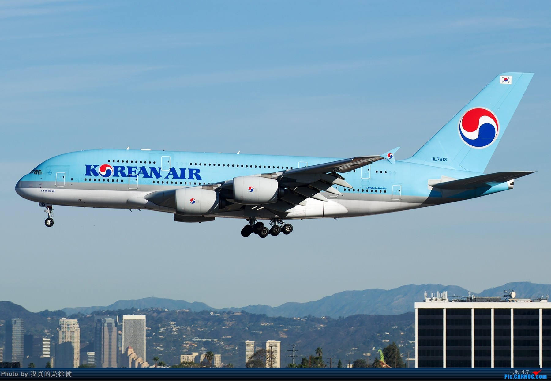 [原创]【多图党】1800x1200 LAX双棒思密达 AIRBUS A380-800 HL7613 美国洛杉矶机场
