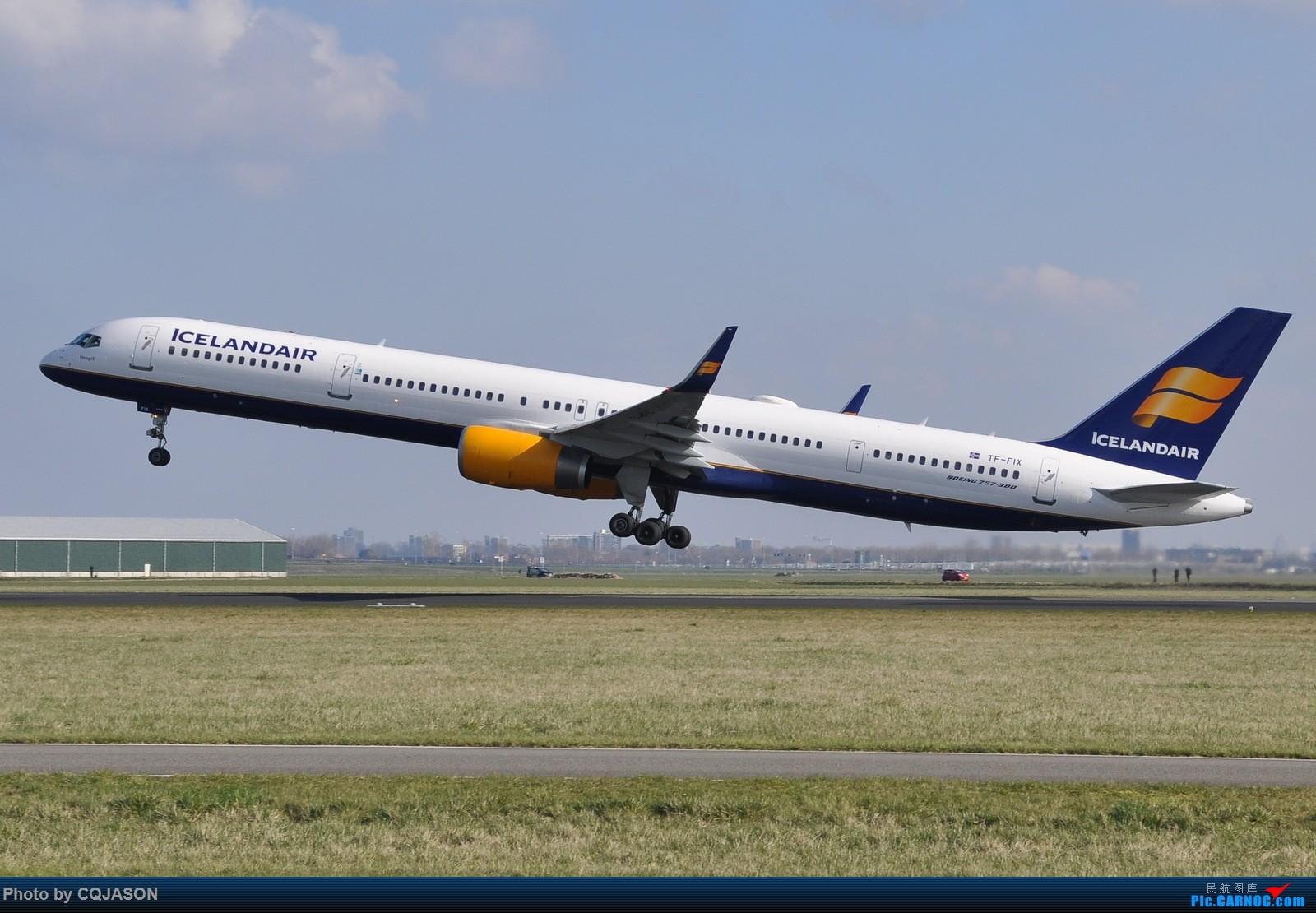 Re:【AMS】【两图党】冰岛航空空中美男757-300 BOEING 757-300 TF-FIX 荷兰阿姆斯特丹史基浦机场