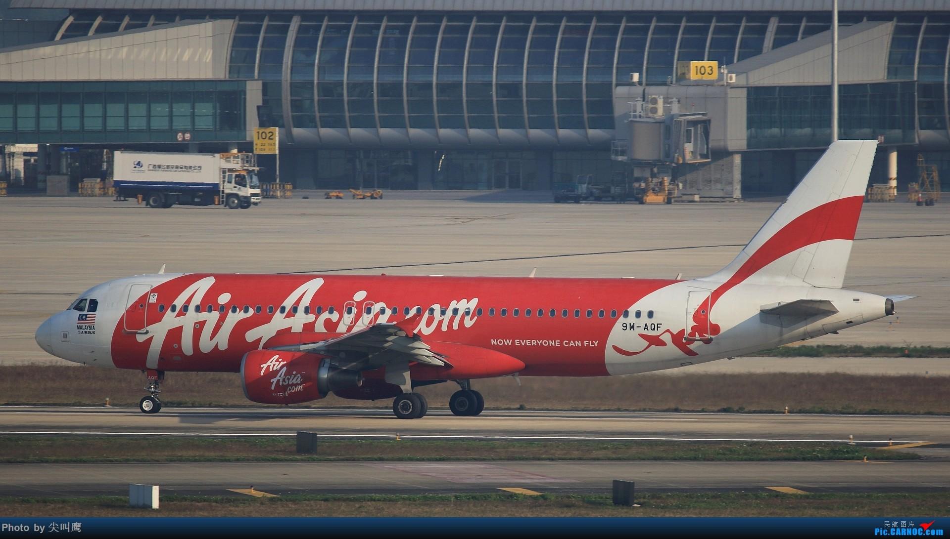 Re:[原创]NNG的马来西亚亚航小合集 AIRBUS A320-200 9M-AQF 中国南宁吴圩国际机场