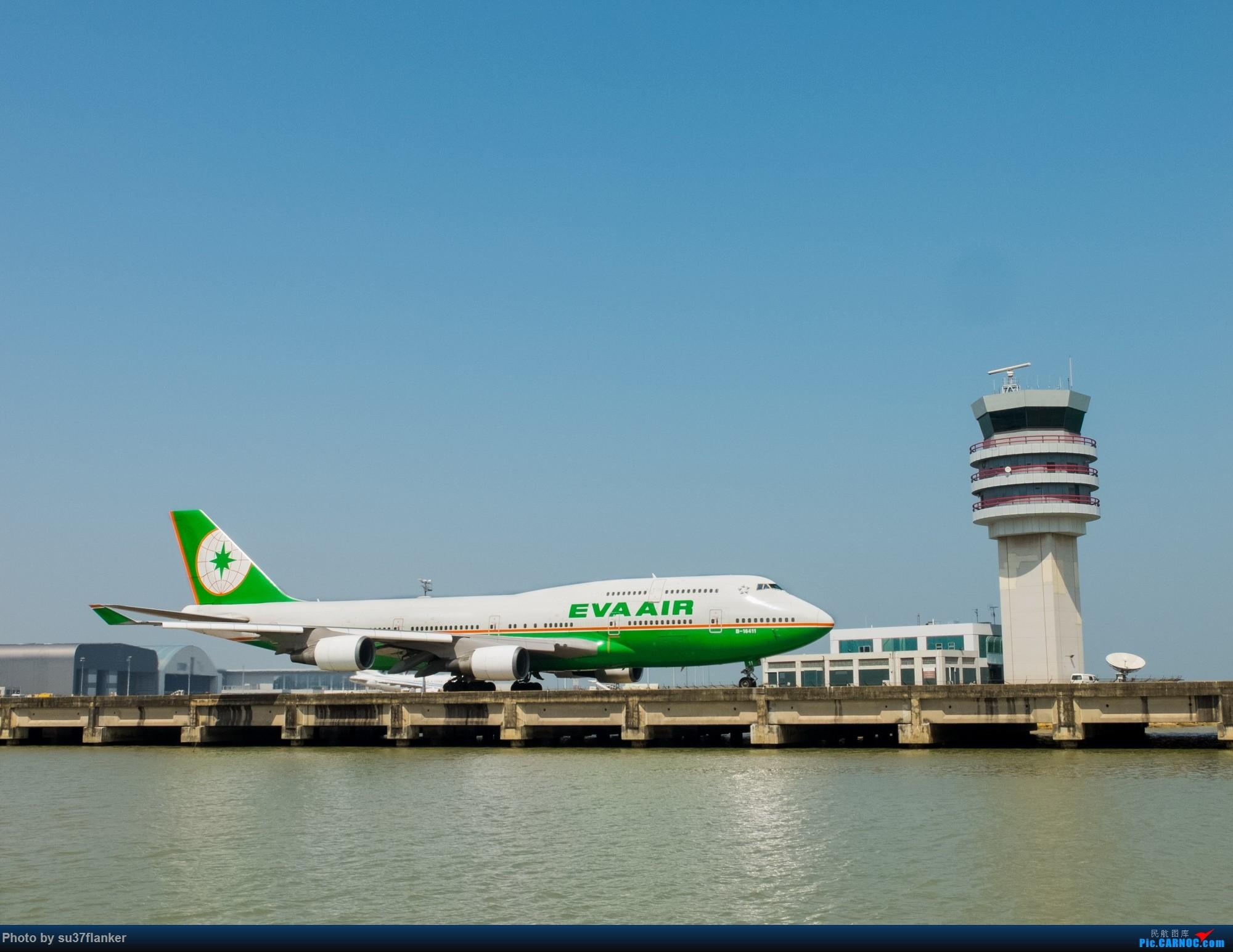 Re:[原创]澳门机场今日主角——长荣744 BOEING 747-400 B-16411 中国澳门国际机场