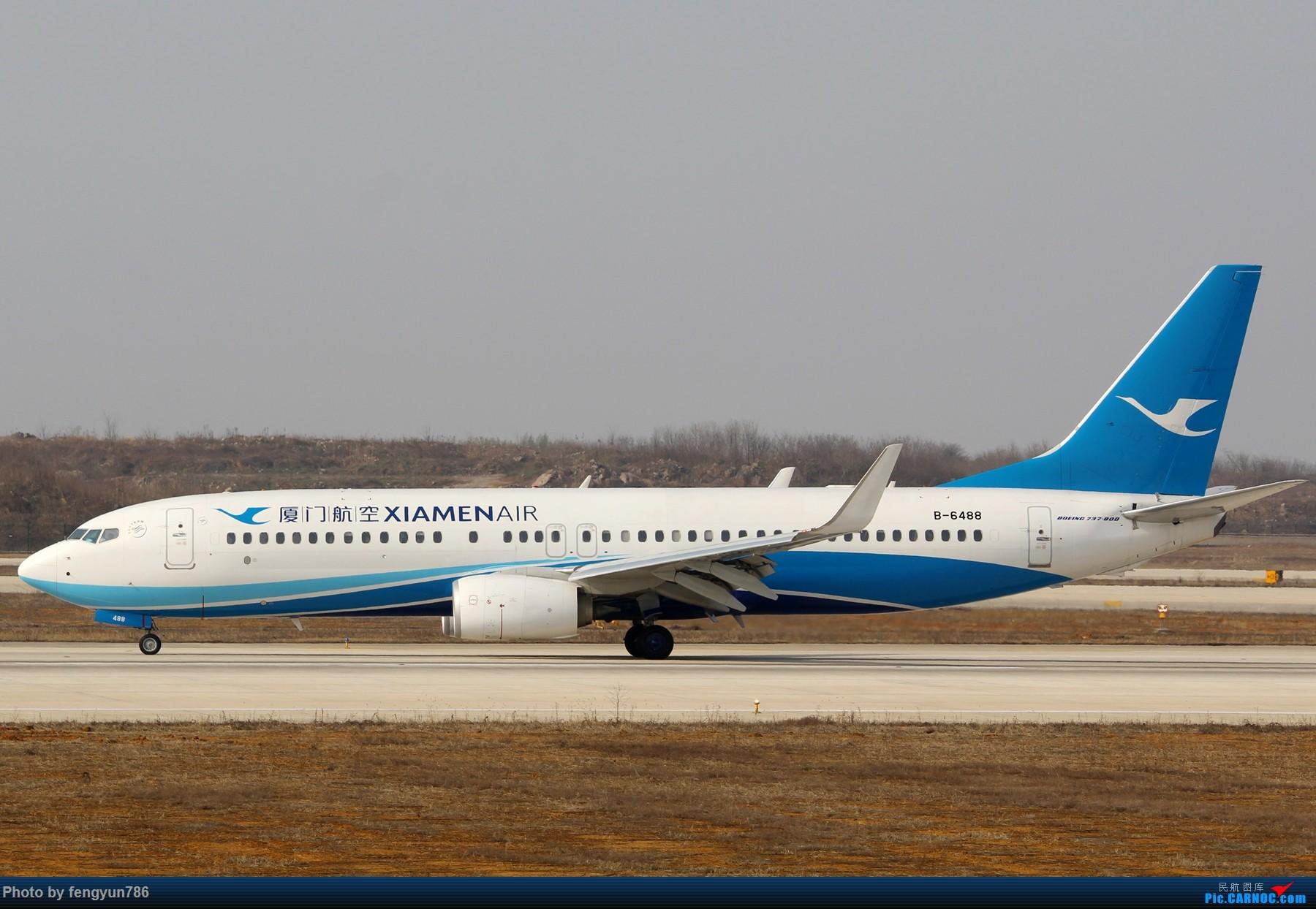 Re:[原创]NKG跑道边两小时,擦烟反推,星星邮戳都有了 BOEING 737-800 B-6488 中国南京禄口国际机场