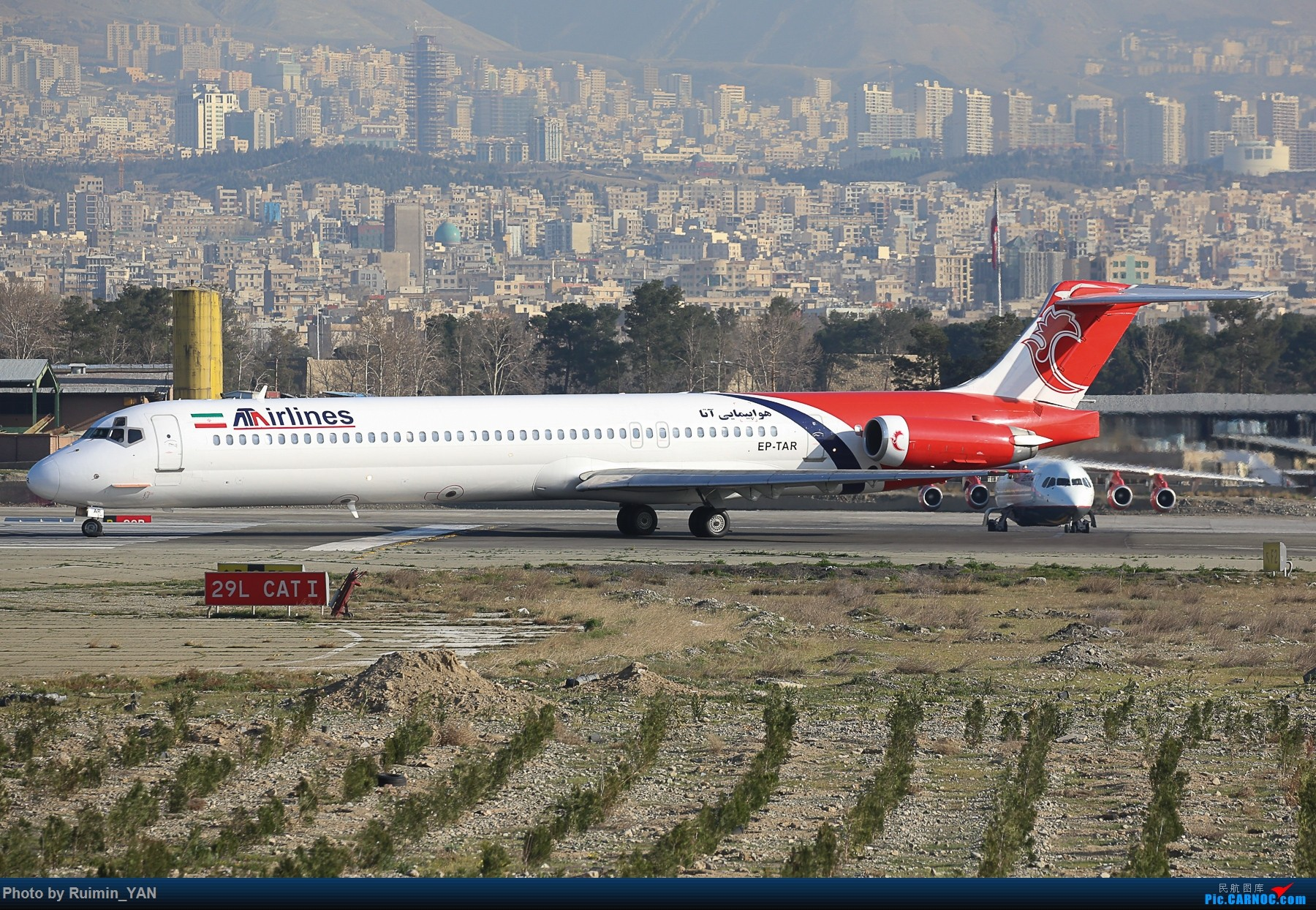 Re:[原创]【THR】(德黑兰梅赫拉巴德机场)伊朗ATA航空(ATA Airlines,I3)--A320,MD83 MD MD-80-83 EP-TAR 德黑兰梅赫拉巴德国际机场