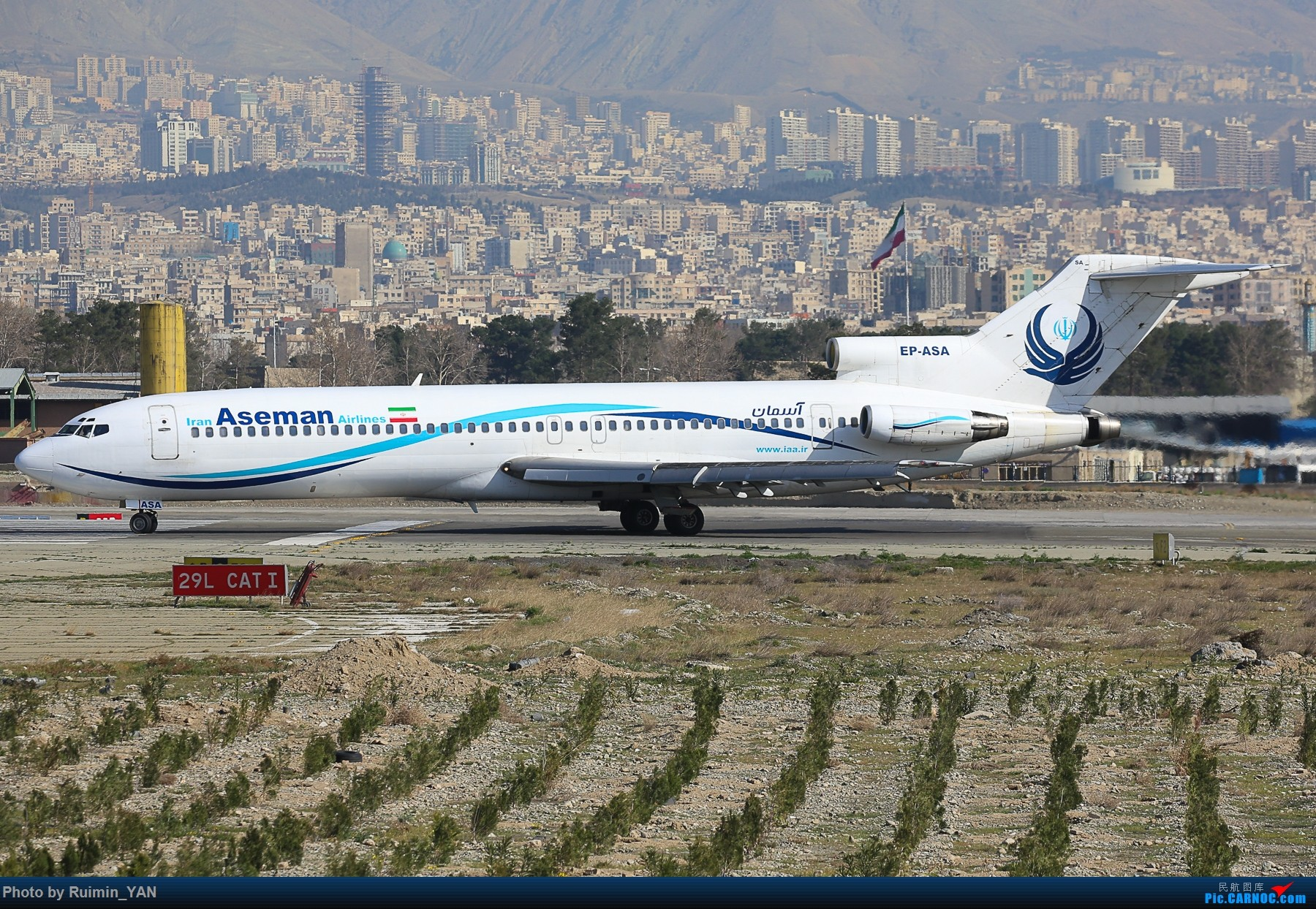 Re:[原创]【THR】【一图党】【波音727】德黑兰梅赫拉巴德机场--伊朗阿斯曼航空(Iran Aseman Airlines,EP)--波音727-200 BOEING 727-200 EP-ASA 德黑兰梅赫拉巴德国际机场