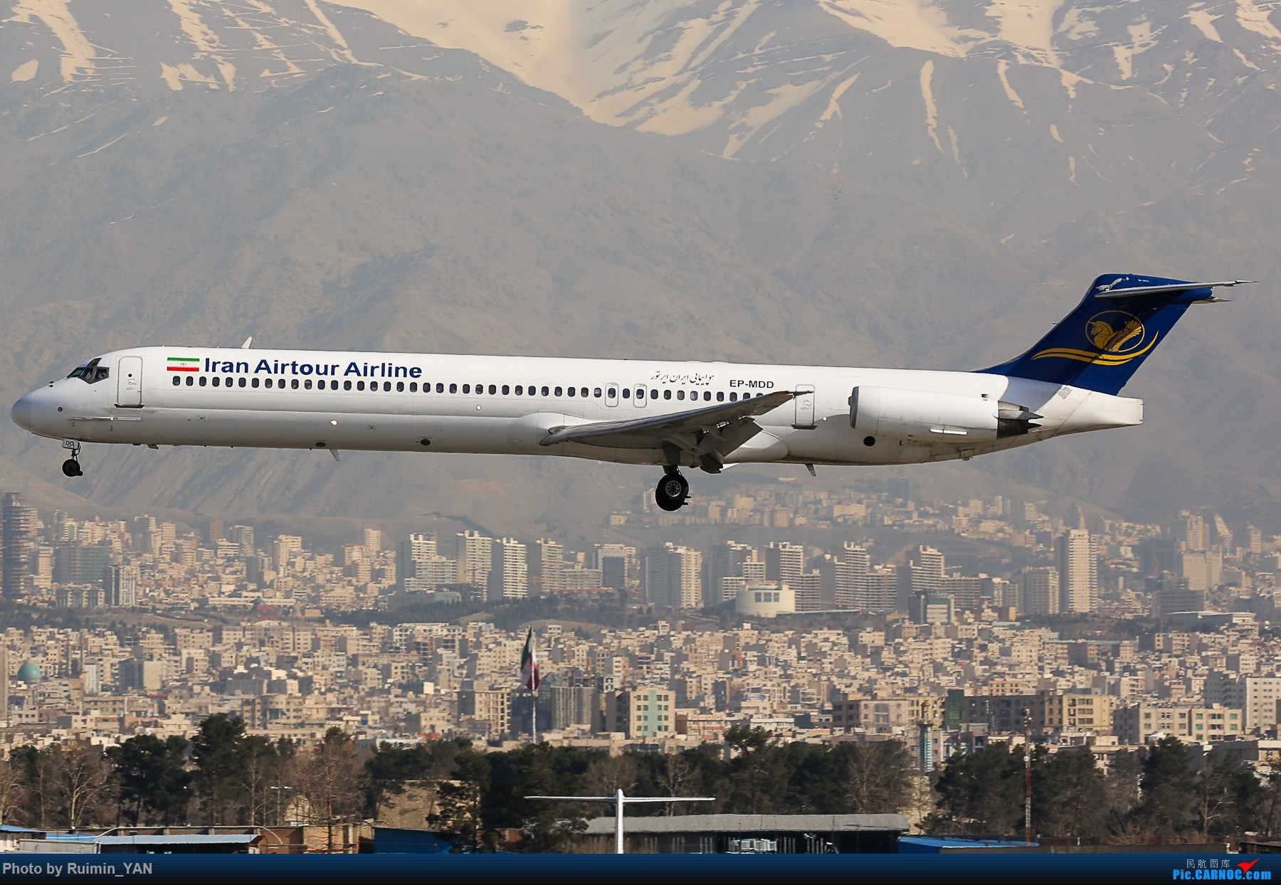 Re:[原创]【THR】(德黑兰梅赫拉巴德机场)伊朗航空旅游公司(Iran Air Tours,B9)--MD82 MD MD-80-82 EP-MDD 德黑兰梅赫拉巴德国际机场