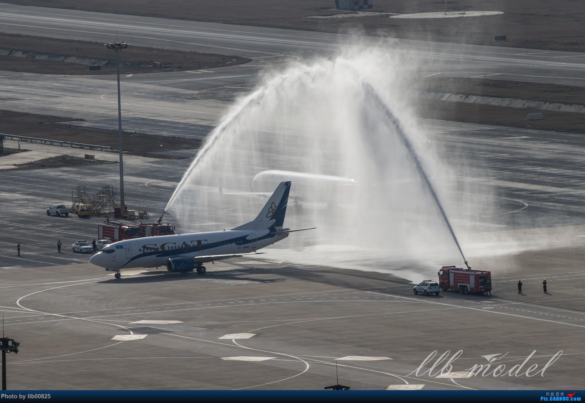 Re:[原创]XIY——SCAT首航西安 BOEING 737-500 LY-AWD 中国西安咸阳国际机场
