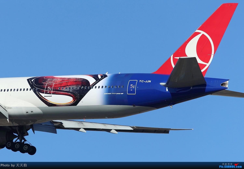 Re:[原创]土尔其航空公司波音777-300彩绘客机执飞北京首都国际机场 BOEING 777-300 TC-JJN 中国北京首都国际机场