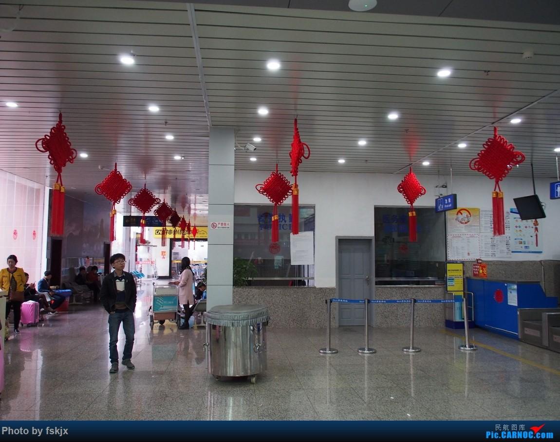 【fskjx的飞行游记☆26】千年古城·凤凰    中国铜仁凤凰机场