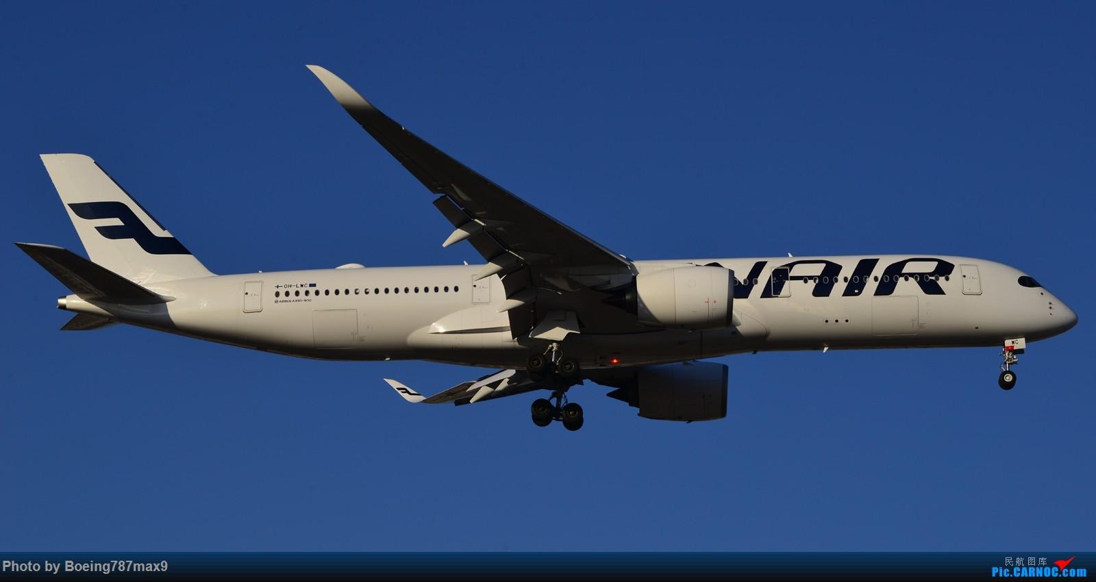 Re:[原创]【PEK】在芬航359停飞北京的前一天,去机场捕获350-900【1600高清大图】 AIRBUS A350-900 OH-LWC 中国北京首都国际机场