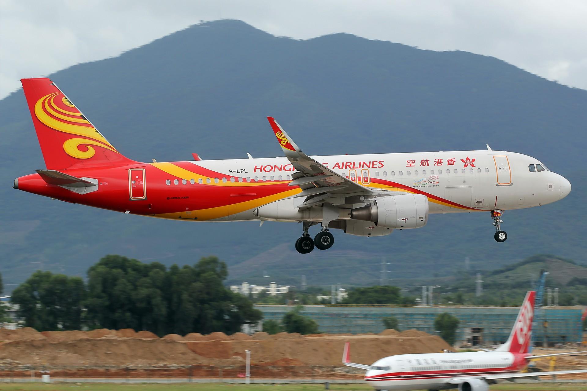[SYX]香港AND吉祥 AIRBUS A320-200 B-LPL 中国三亚凤凰国际机场