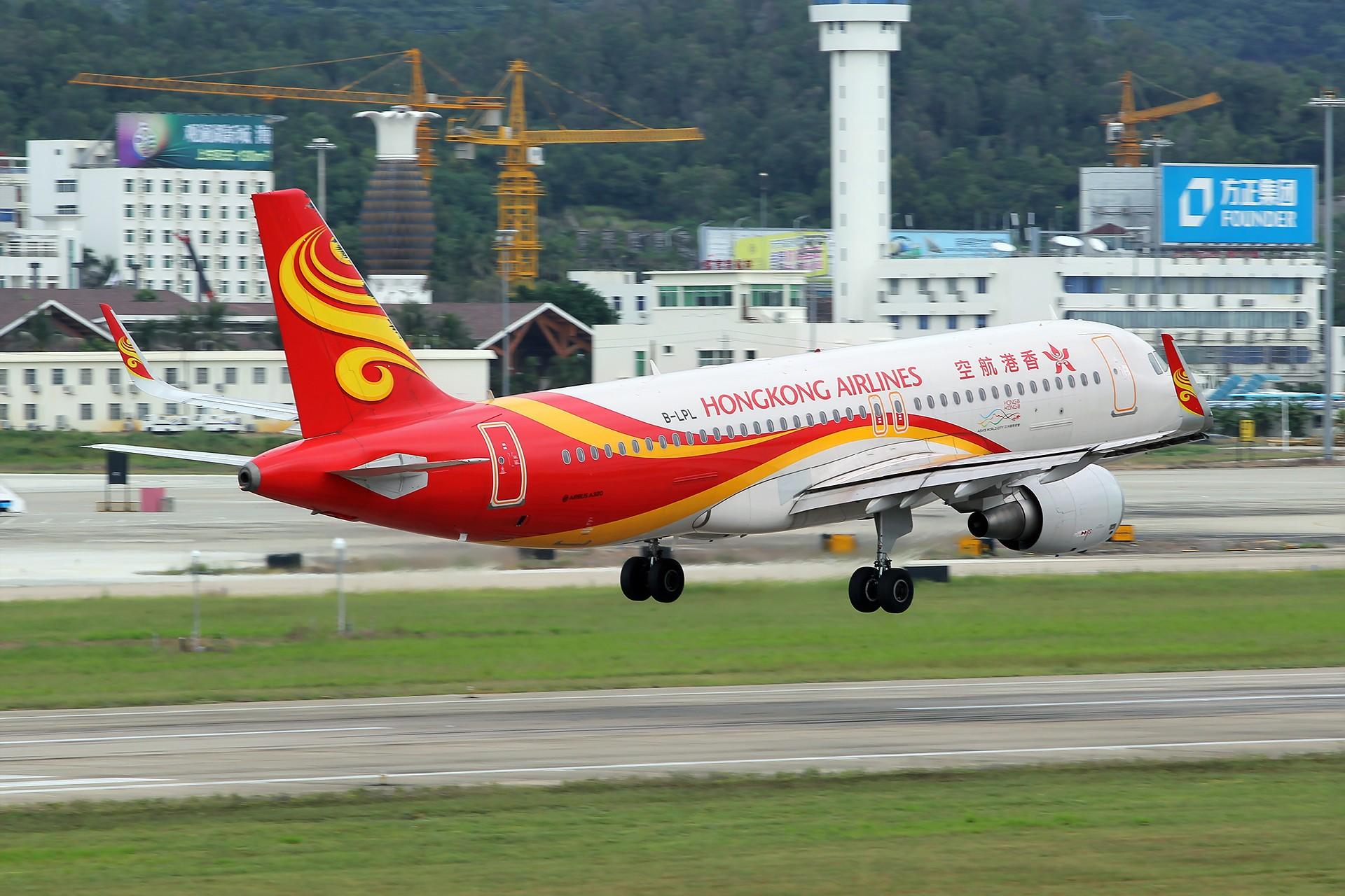 Re:[原创][SYX]香港AND吉祥 AIRBUS A320-200 B-LPL 中国三亚凤凰国际机场