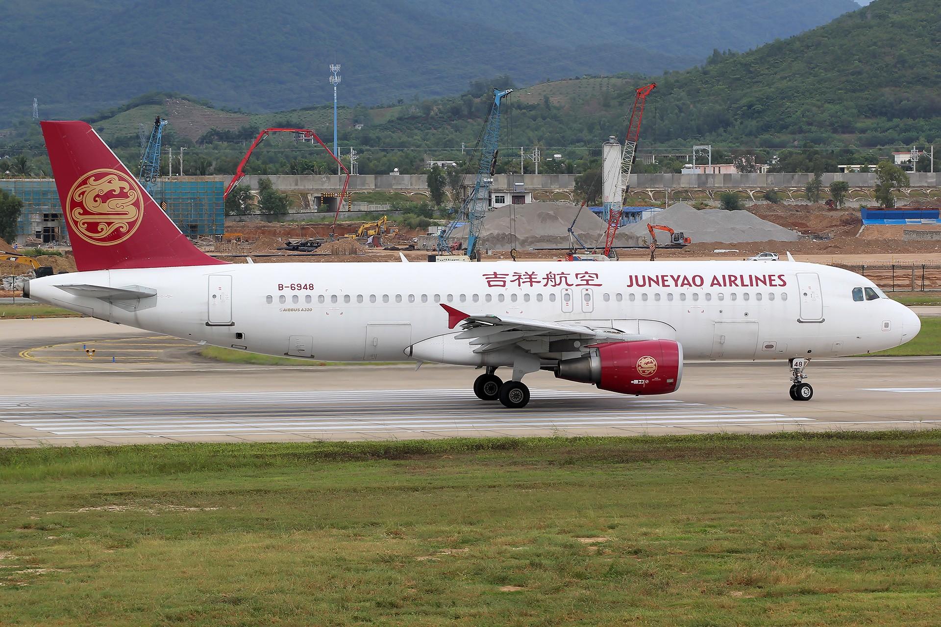 Re:[原创][SYX]香港AND吉祥 AIRBUS A320-200 B-6948 中国三亚凤凰国际机场