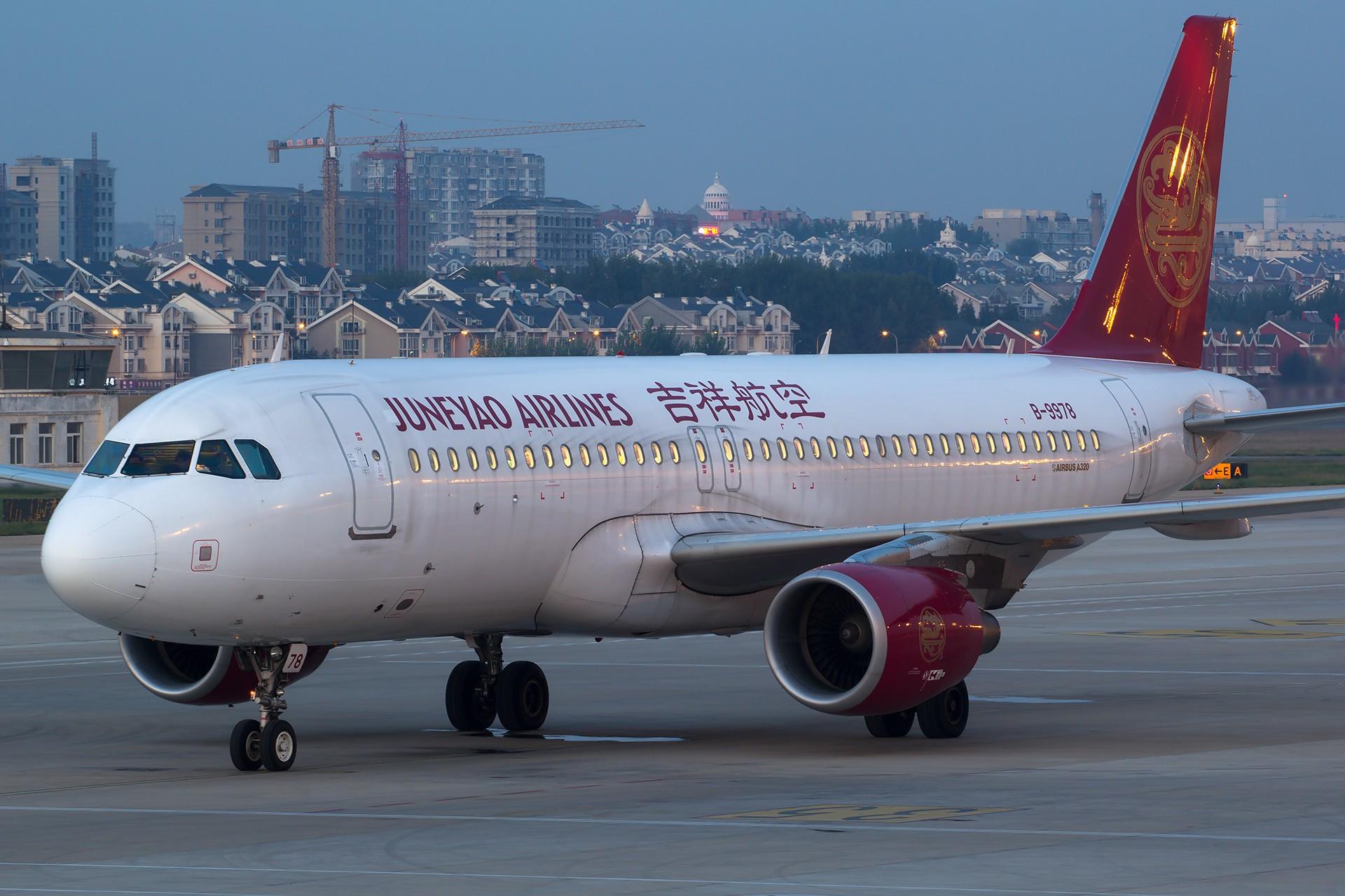 Re:[原创][SYX]香港AND吉祥 AIRBUS A320-200 B-9978 中国大连国际机场