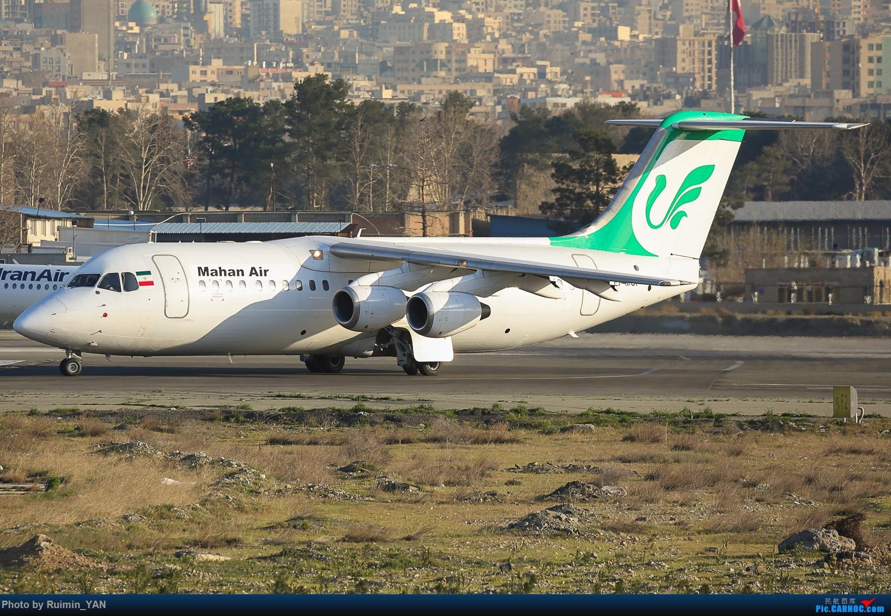 【THR】(德黑兰梅赫拉巴德机场)马汉航空(Mahan Air,W5)--RJ100 BRITISH AEROSPACE BAE-146-300 EP-MOI 伊朗德黑兰机场