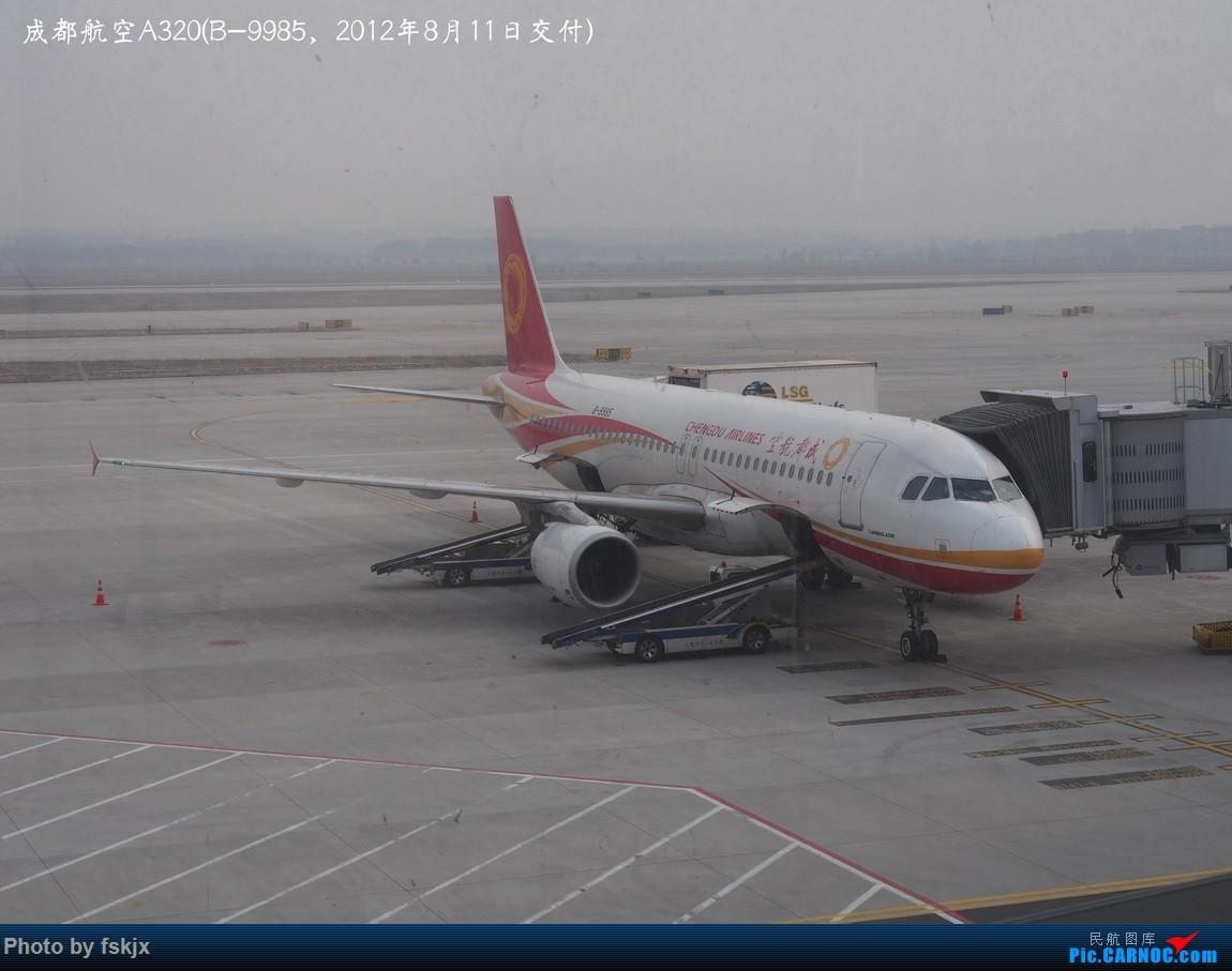 Re:【fskjx的飞行游记☆27】六朝古都·南京 AIRBUS A320-200 B-9985 中国南京禄口国际机场