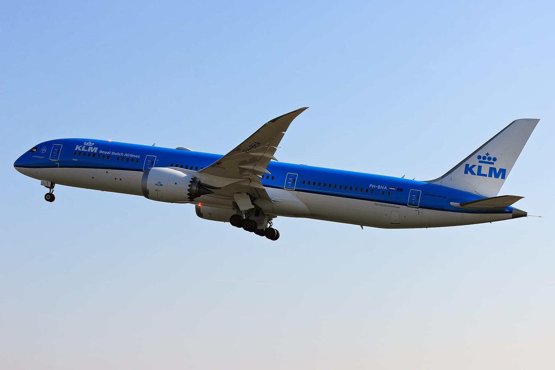 Re:【AMS】KLM新涂装一组 BOEING 787-9 PH-BHA 荷兰阿姆斯特丹史基浦机场