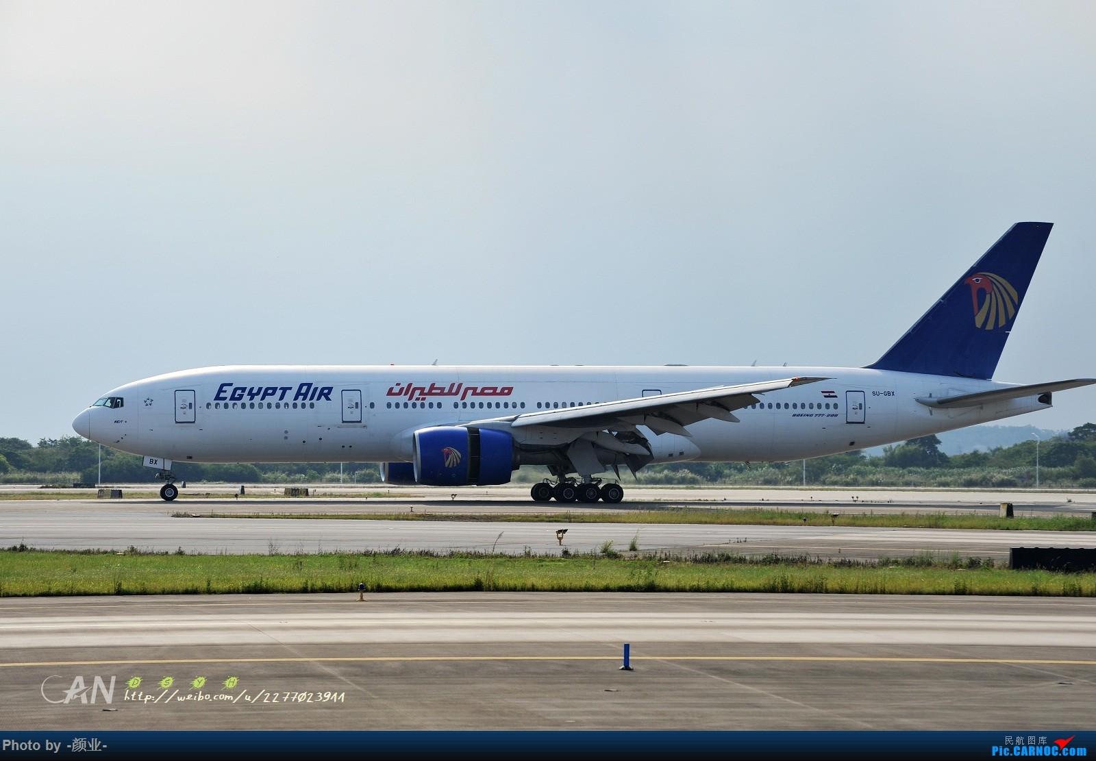 Re:[原创]ZGGG(广州CAN)的波音777系列-继续更新 BOEING 777-200 SU-GBX 中国广州白云国际机场