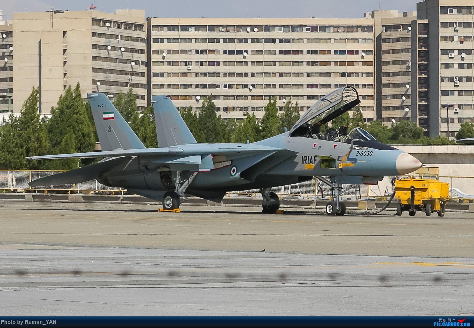 [原创]【THR】(德黑兰梅赫拉巴德机场)【波斯猫】伊朗空军-- F-14A(Tomcat雄猫),Su-22M-4,F-4(鬼怪Phantom) F-14A 3-6030 伊朗德黑兰机场
