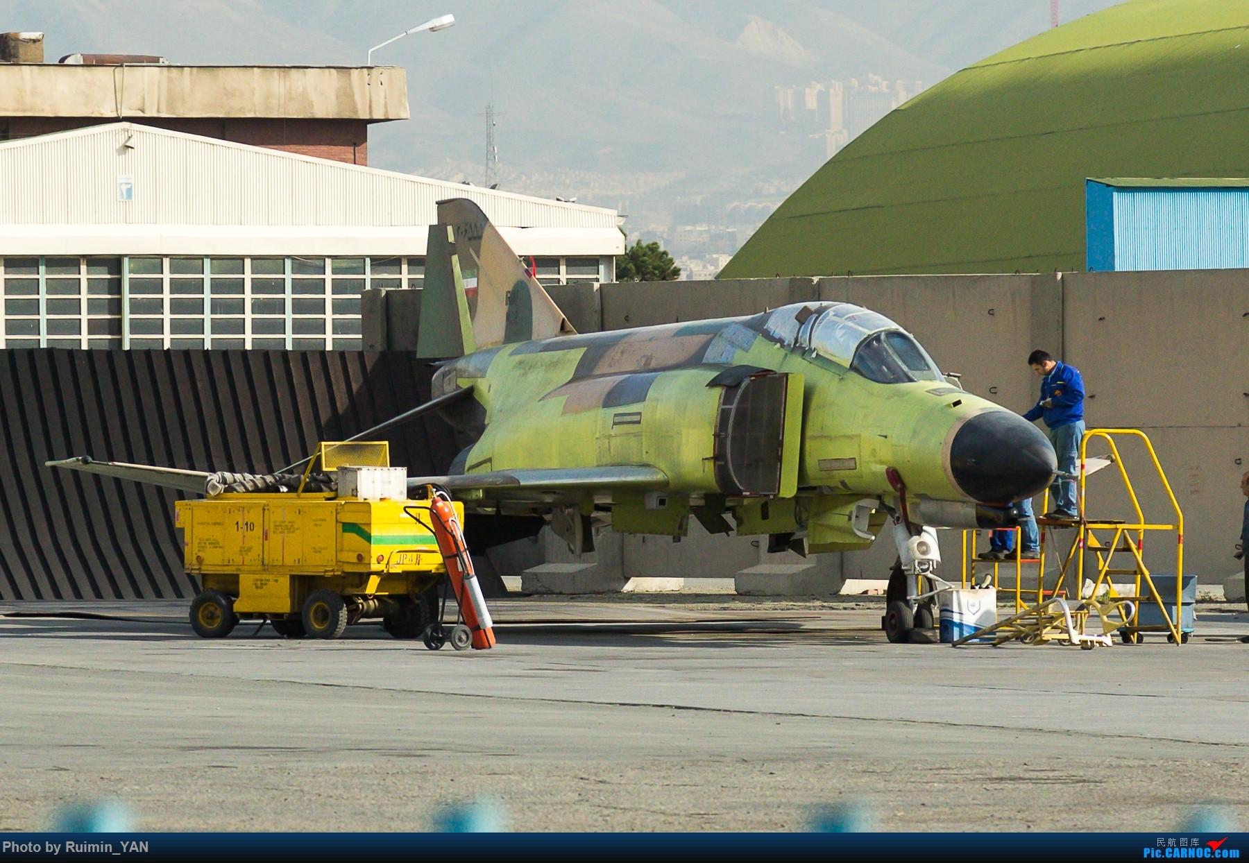 Re:[原创]【THR】(德黑兰梅赫拉巴德机场)伊朗空军(Iran Air Force)-- F-14A(Tomcat雄猫),Su-22M-4,F-4(鬼怪Phantom) F-4 3-6555 伊朗德黑兰机场