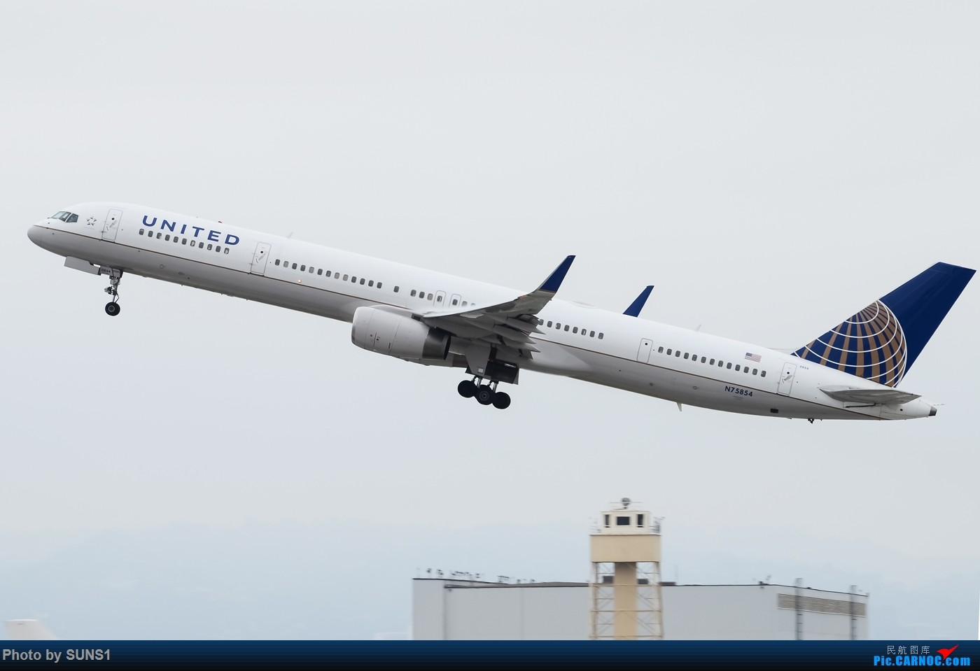 Re:【LAX】#加长不是硬道理#加长并没有提升销量的波音757-300 BOEING 757-300 N75854 美国洛杉矶国际机场