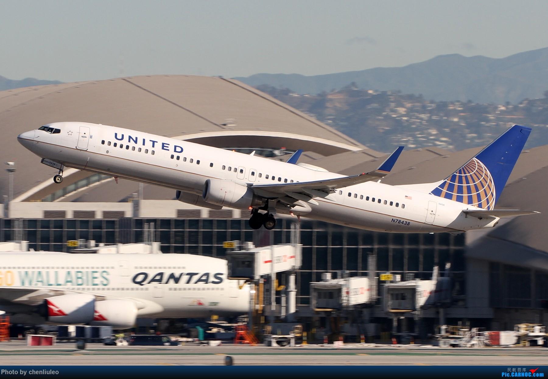Re:[原创]【北美飞友会】LAX带地景起飞一组 BOEING 737-900ER N78438 美国洛杉矶机场